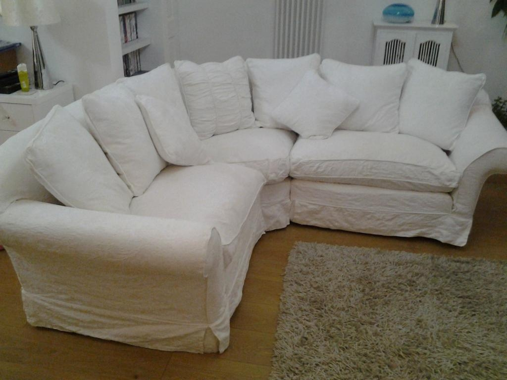 Tetrad Alicia Compact Corner Sofa, 100% Cotton Removable Washable With Sofas With Removable Covers (Image 17 of 20)