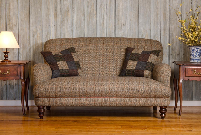 Tetrad :: Harris Tweed :: Tetrad Harris Tweed Braemar 2 Seater Pertaining To Tweed Fabric Sofas (Image 12 of 20)