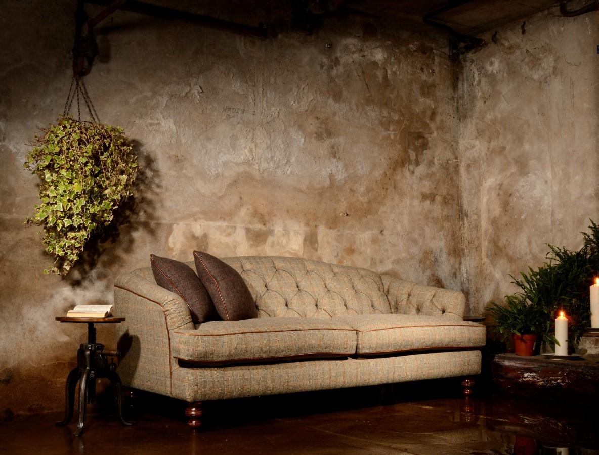 Tetrad's Harris Tweed Upholstery 100% Made In Britain – Lpc Furniture With Tweed Fabric Sofas (Image 13 of 20)