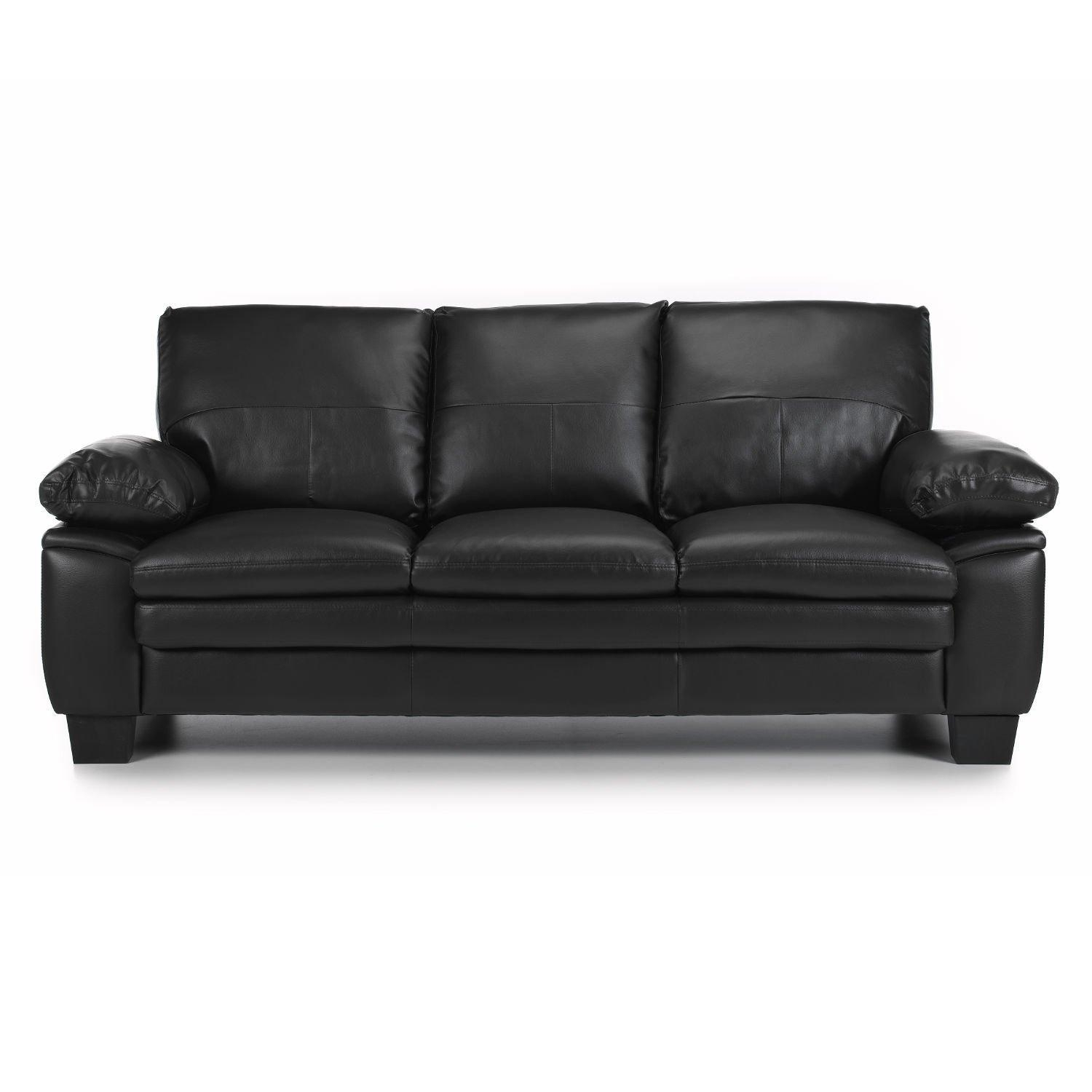 Texas 3 Seater Leather Sofa Next Day Delivery Inside