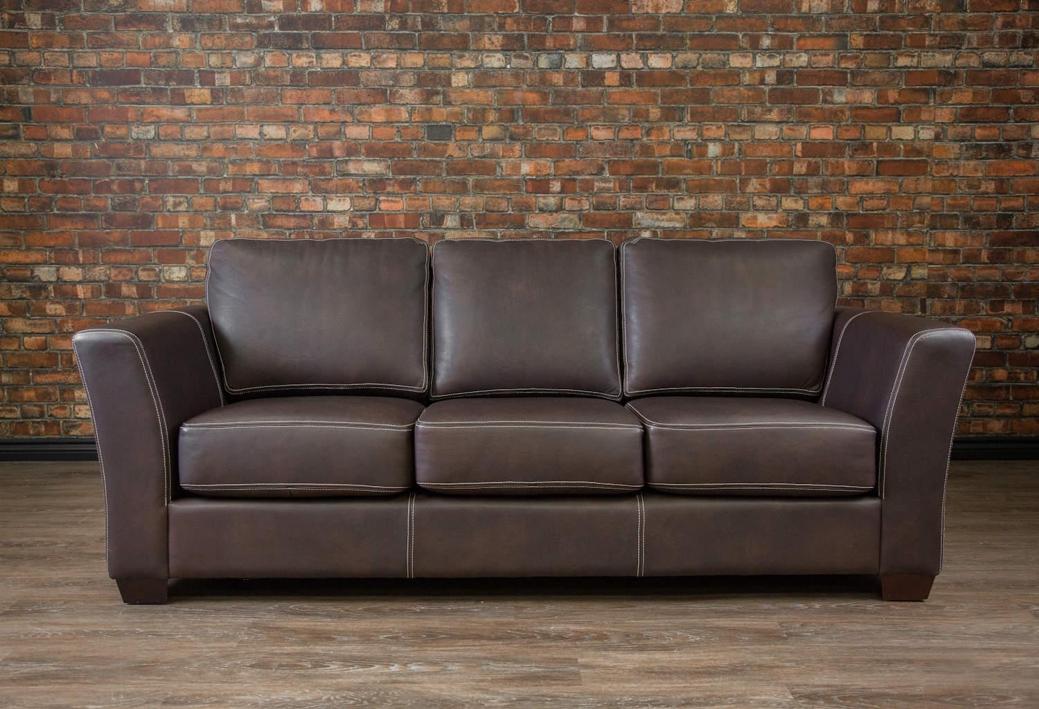 The Aspen Collection (Sofa) | Canada's Boss Leather Sofas And In Aspen Leather Sofas (Image 20 of 20)