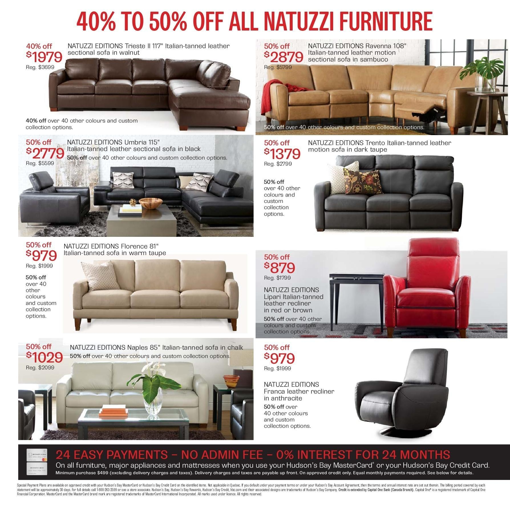 The Bay Weekly Flyer – Bay Days – Home – Oct 17 – 30 For The Bay Sofas (View 17 of 20)