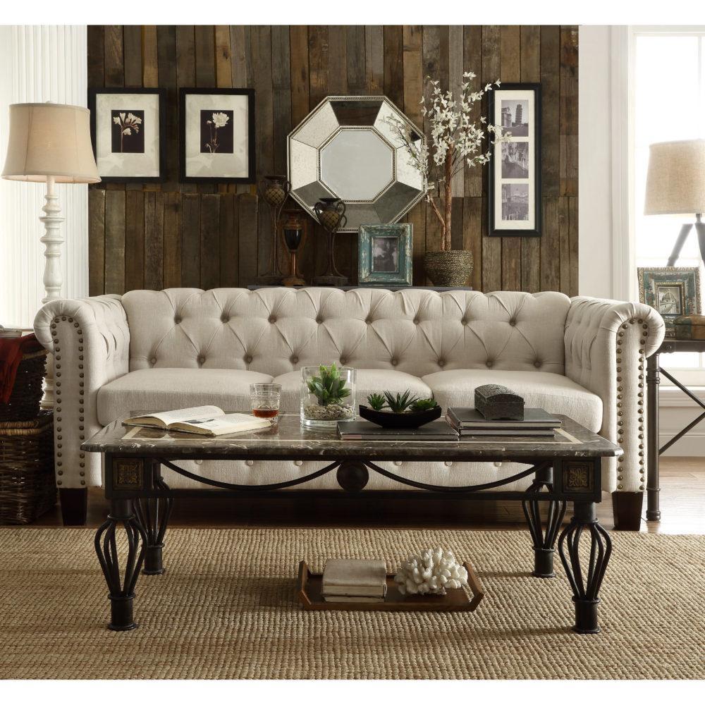 The Best Chesterfield Sofas Of Santa Barbara | Santa Barbara inside Old Fashioned Sofas