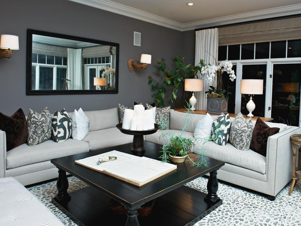 The Best Diy Apartment Small Living Room Ideas On A Budget Grey Regarding Living Room With Grey Sofas (Image 18 of 20)