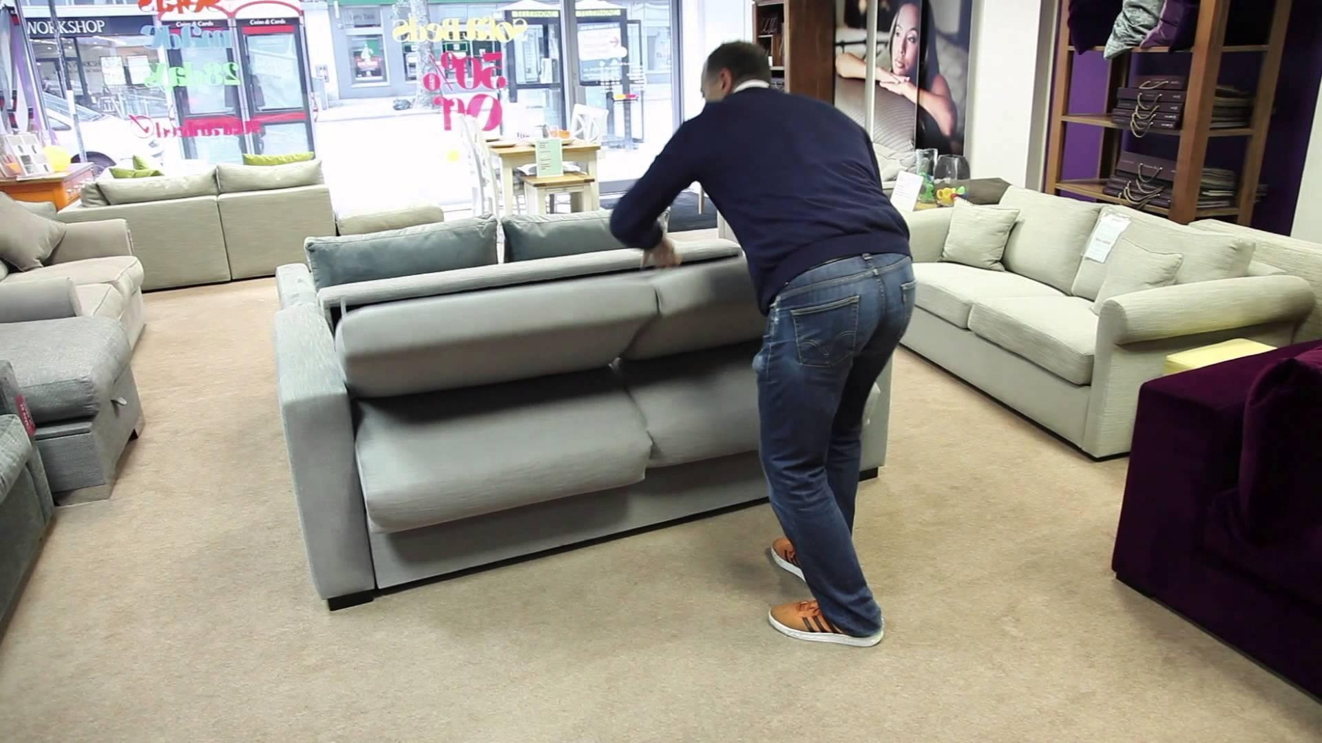 The Best Sofa Bed In The World – Youtube In Most Comfortable Sofabed (Image 21 of 22)