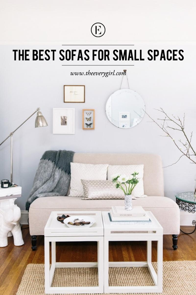 The Best Sofas For Small Spaces – The Everygirl Throughout Small Bedroom Sofas (Image 20 of 20)