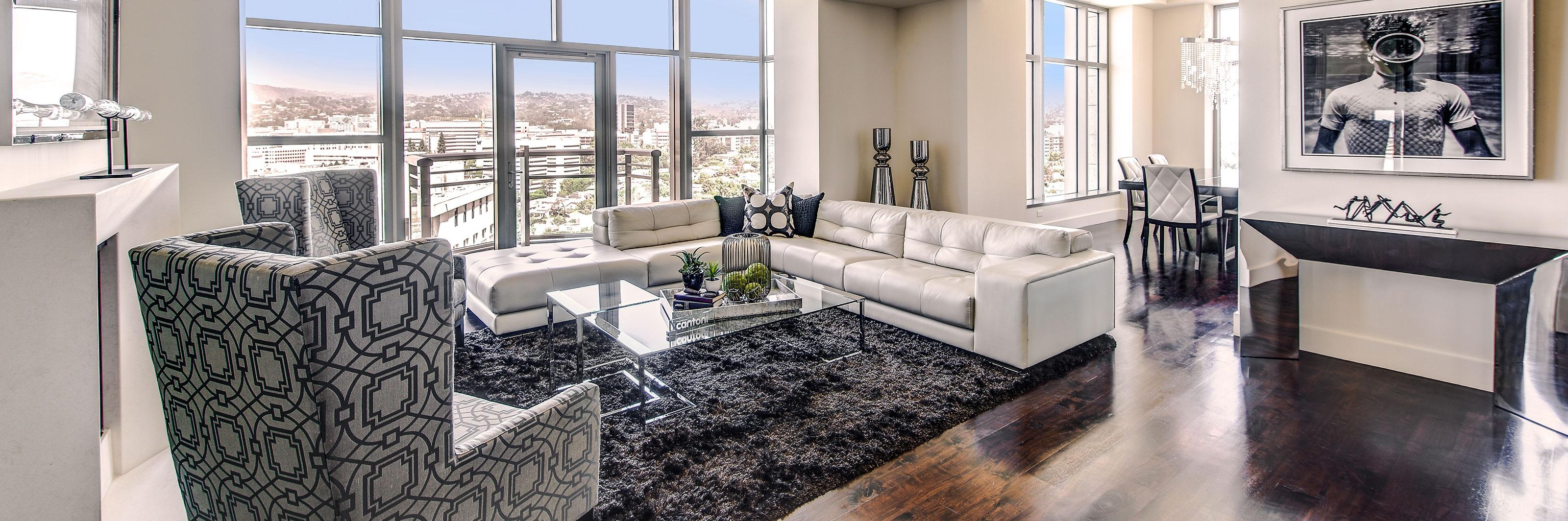 The Cantoni Home At The Carlyle Residences | Cantoni Los Angeles Intended For Cantoni Sofas (Image 19 of 20)