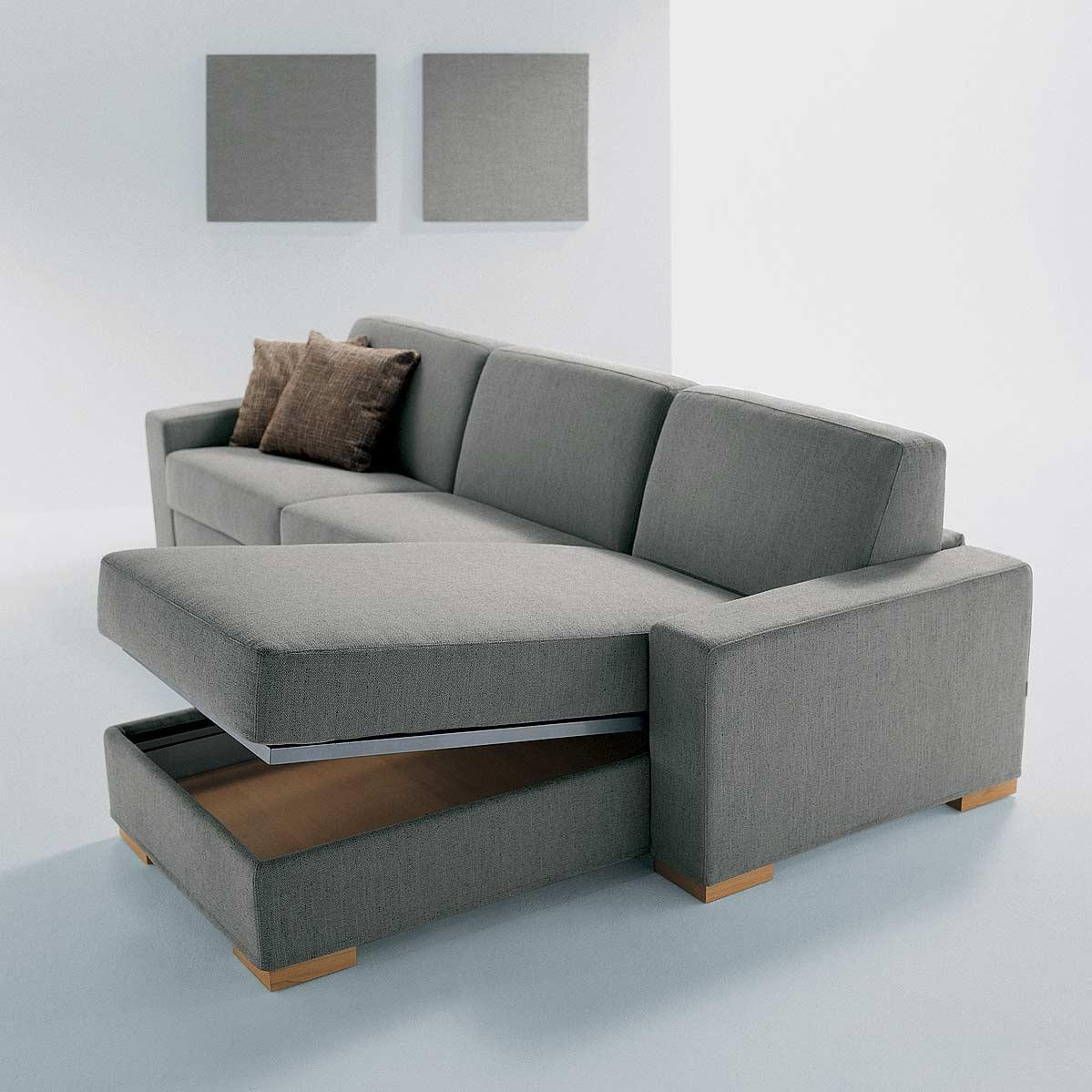 The Duke Sectional Sofa With Storage Has Everything You Need – Tevami With Regard To Sectional Sofa With Storage (View 9 of 20)