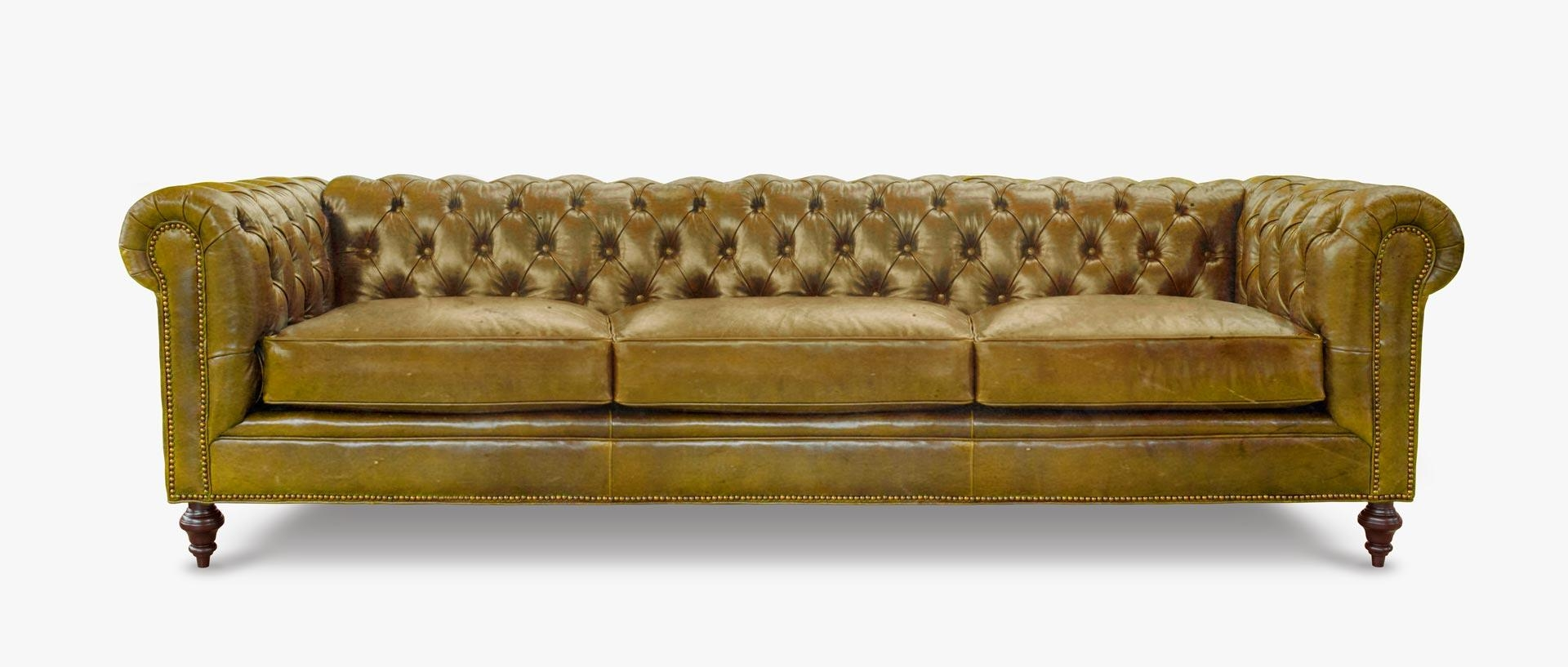 The Fitzgerald: Classic Chesterfield | Of Iron & Oak With Regard To Seafoam Green Sofas (View 12 of 20)