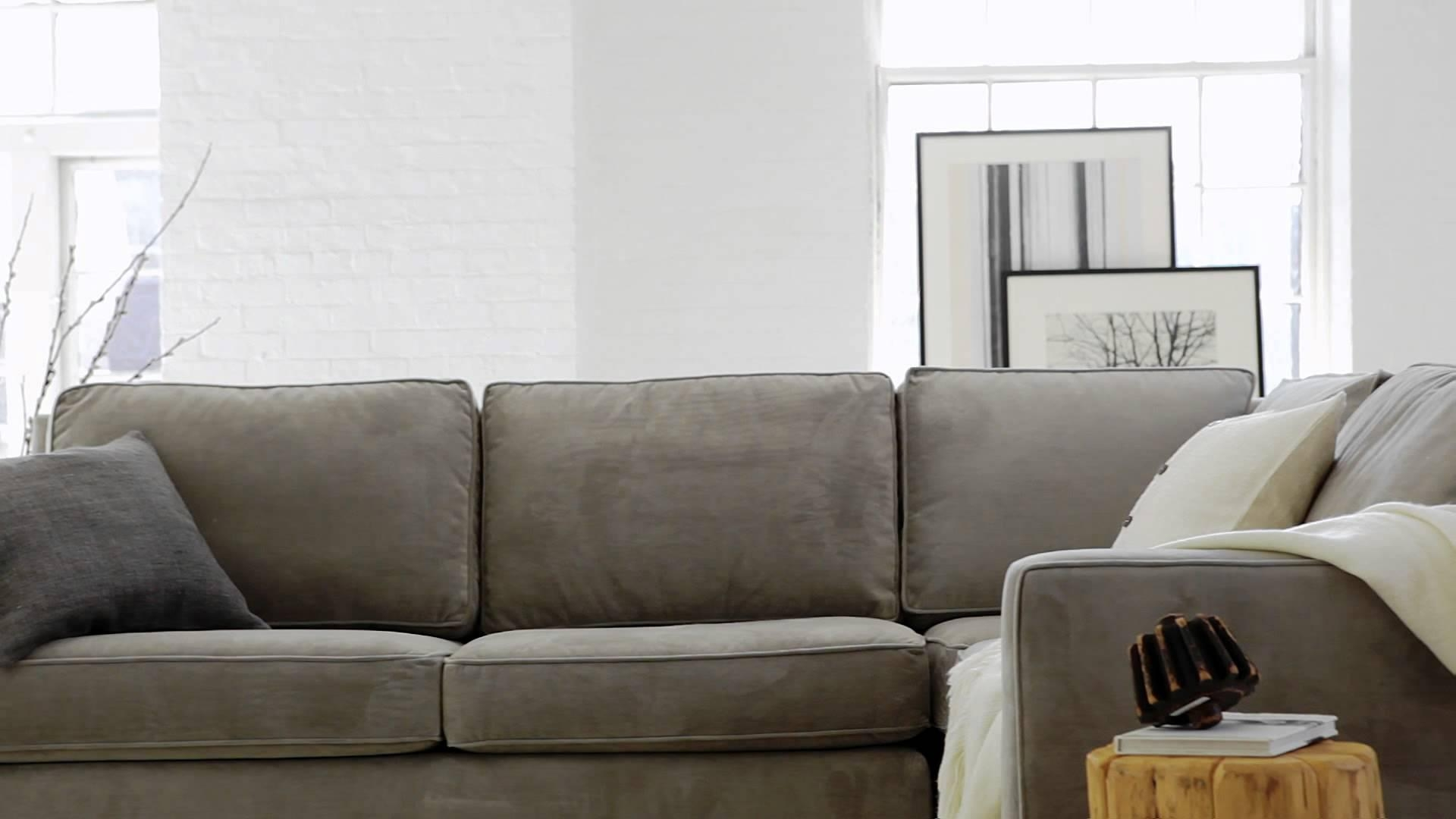 The Henry Collection: Classic, Contemporary Living Room Furniture Inside West Elm Sectional Sofa (View 4 of 20)