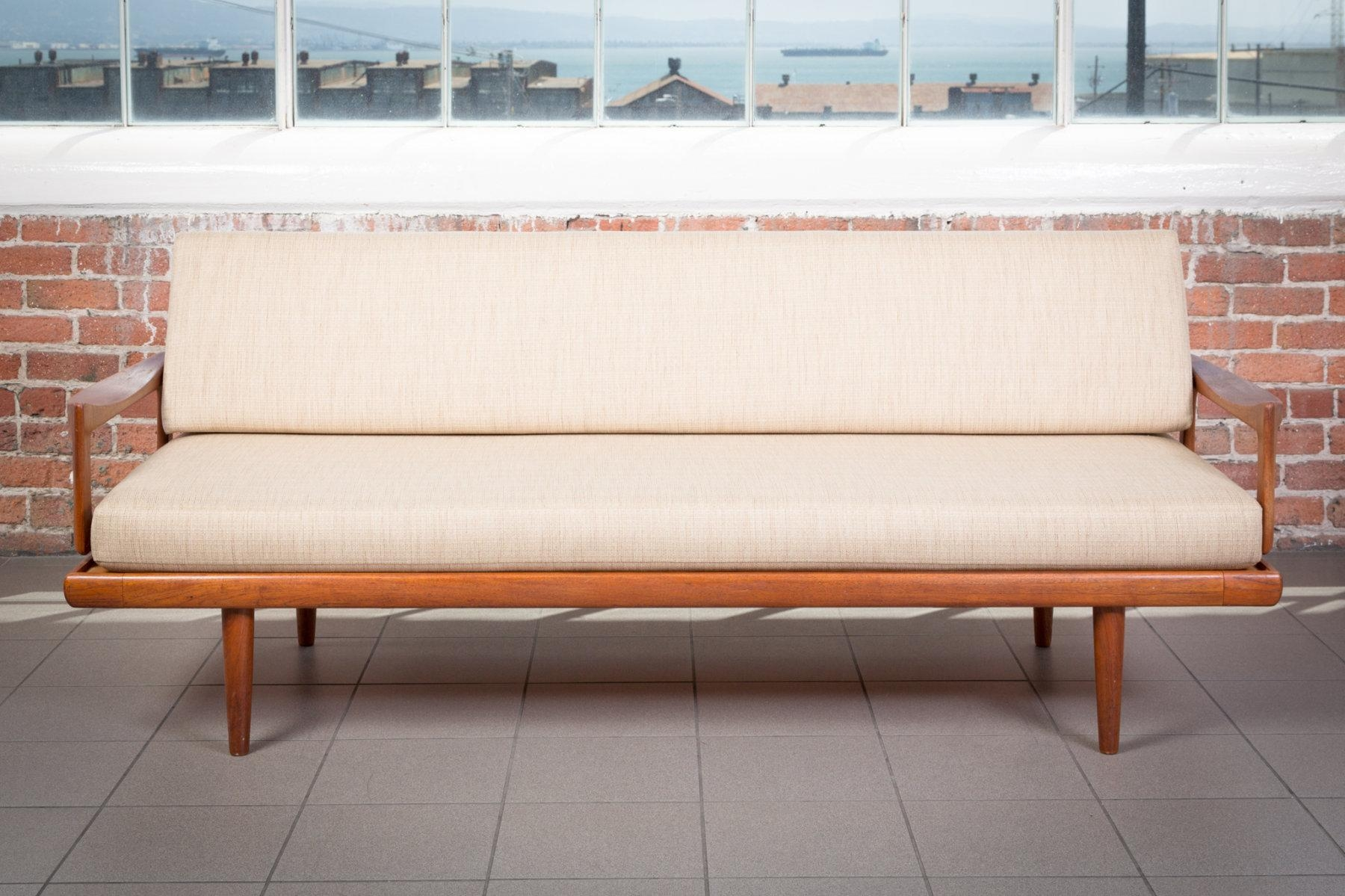 The Jacamar | Danish Modern Sofa | Piecesviolet – Vintage Rentals Regarding Modern Danish Sofas (View 11 of 20)