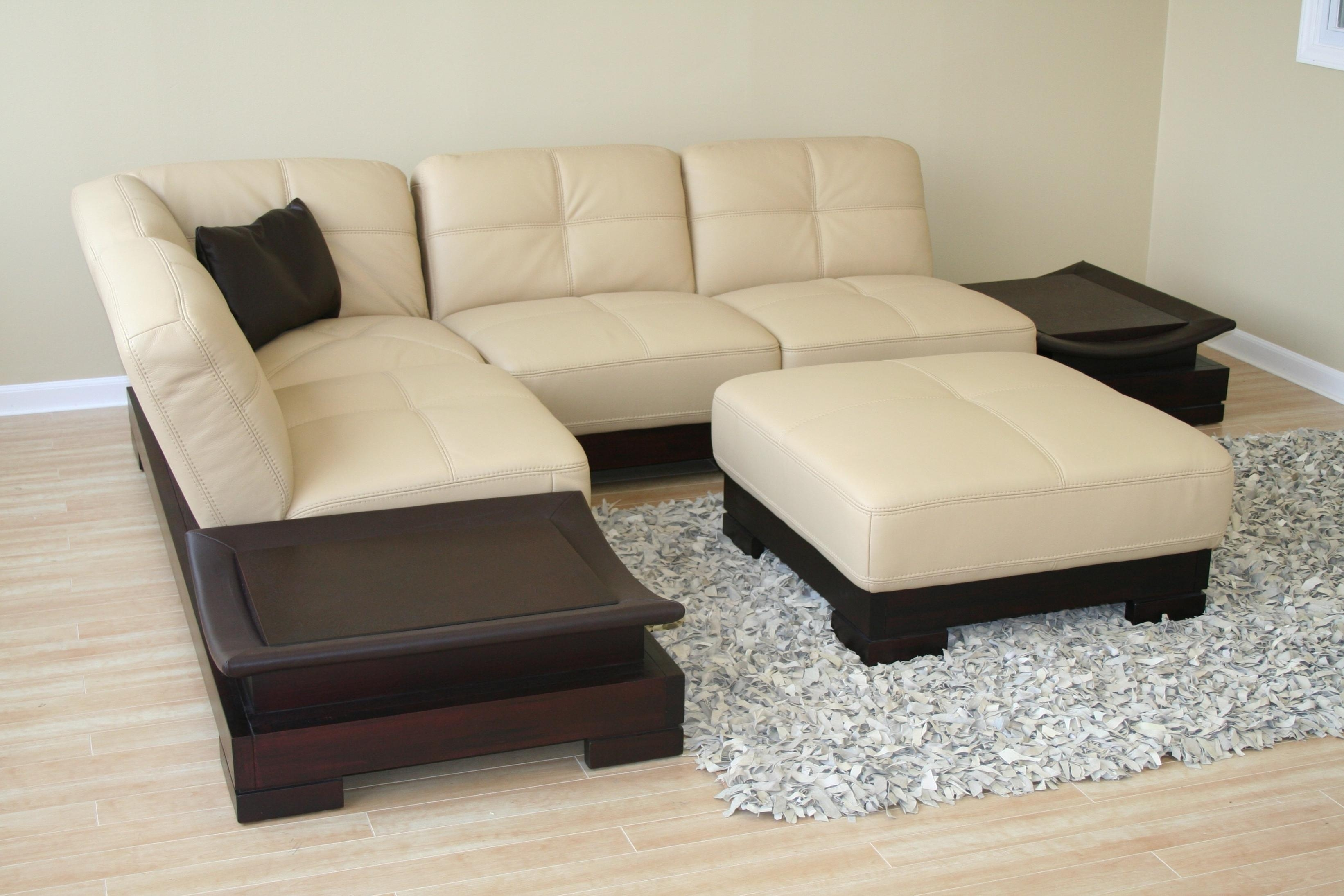 The Most Popular Small Scale Sectional Sofa 26 In Small Leather Intended For Small Scale Leather Sectional Sofas (Image 18 of 20)