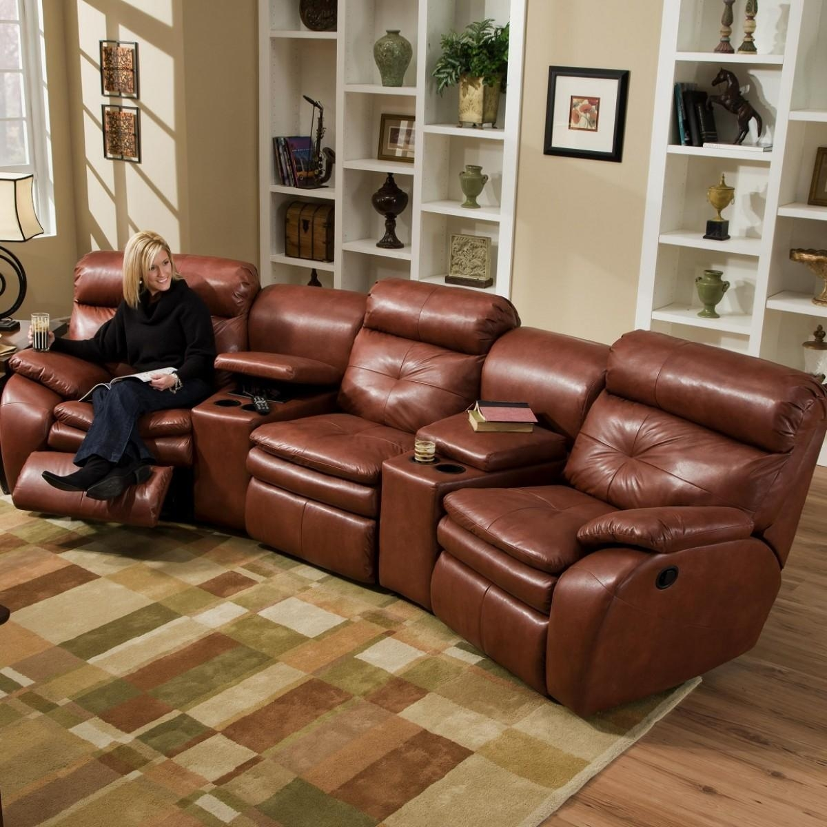 The Purposes Of Sectional Couches With Recliners Within Sectional With Cup Holders (Image 20 of 20)
