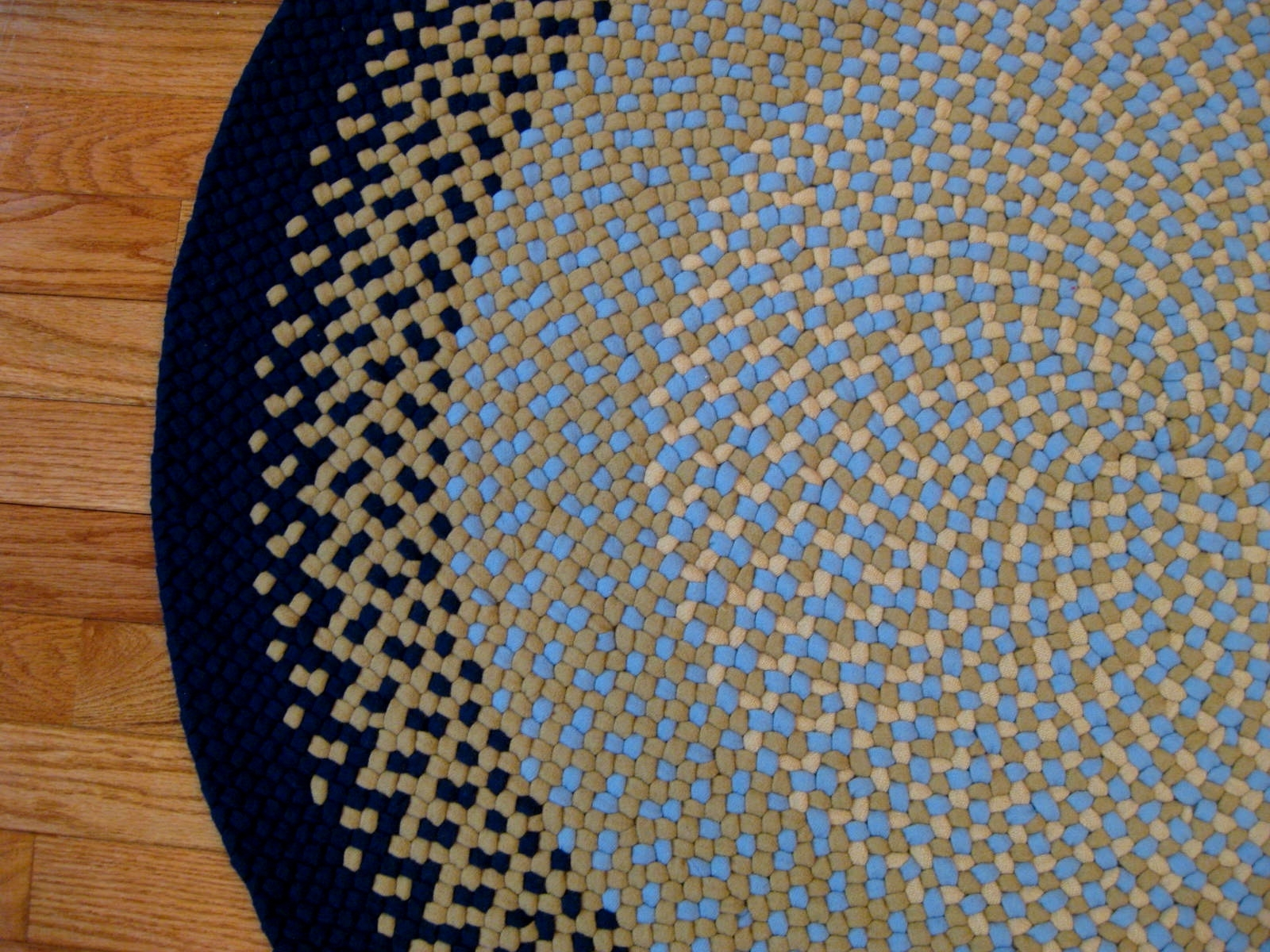 The Round Braided Rugs — Home Ideas Collection Within Braided Rugs (View 9 of 10)