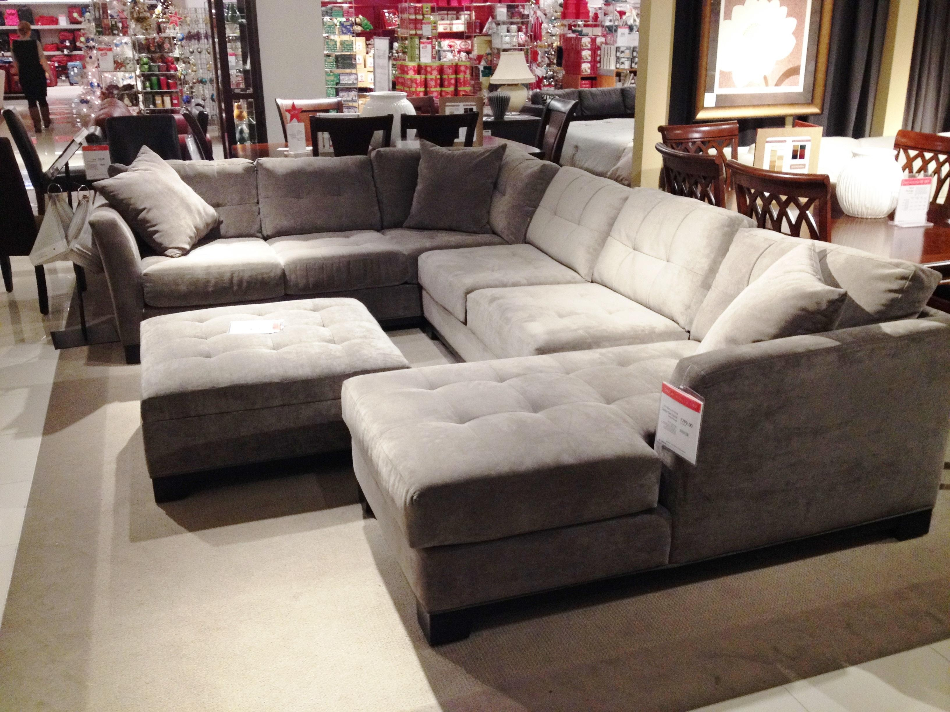 The Sectional Sofa Saga | Mid Century Modern(Ization) In Macys Leather Sectional Sofa (View 2 of 20)