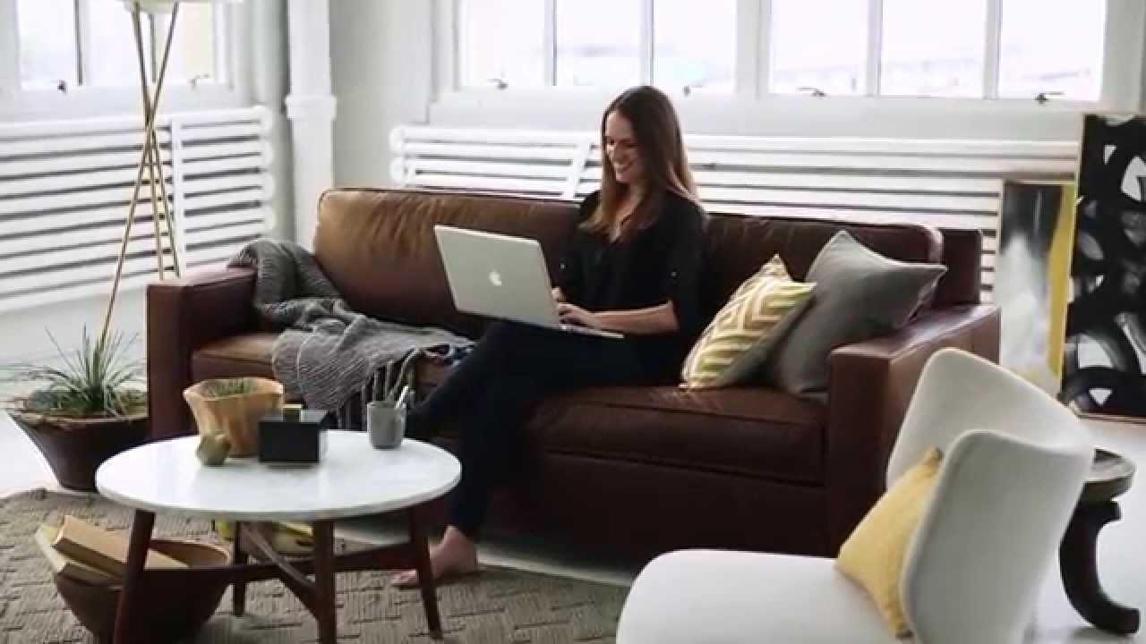 The Sofa That's Always In Style | West Elm – Youtube Pertaining To West Elm Sectionals (Image 18 of 20)