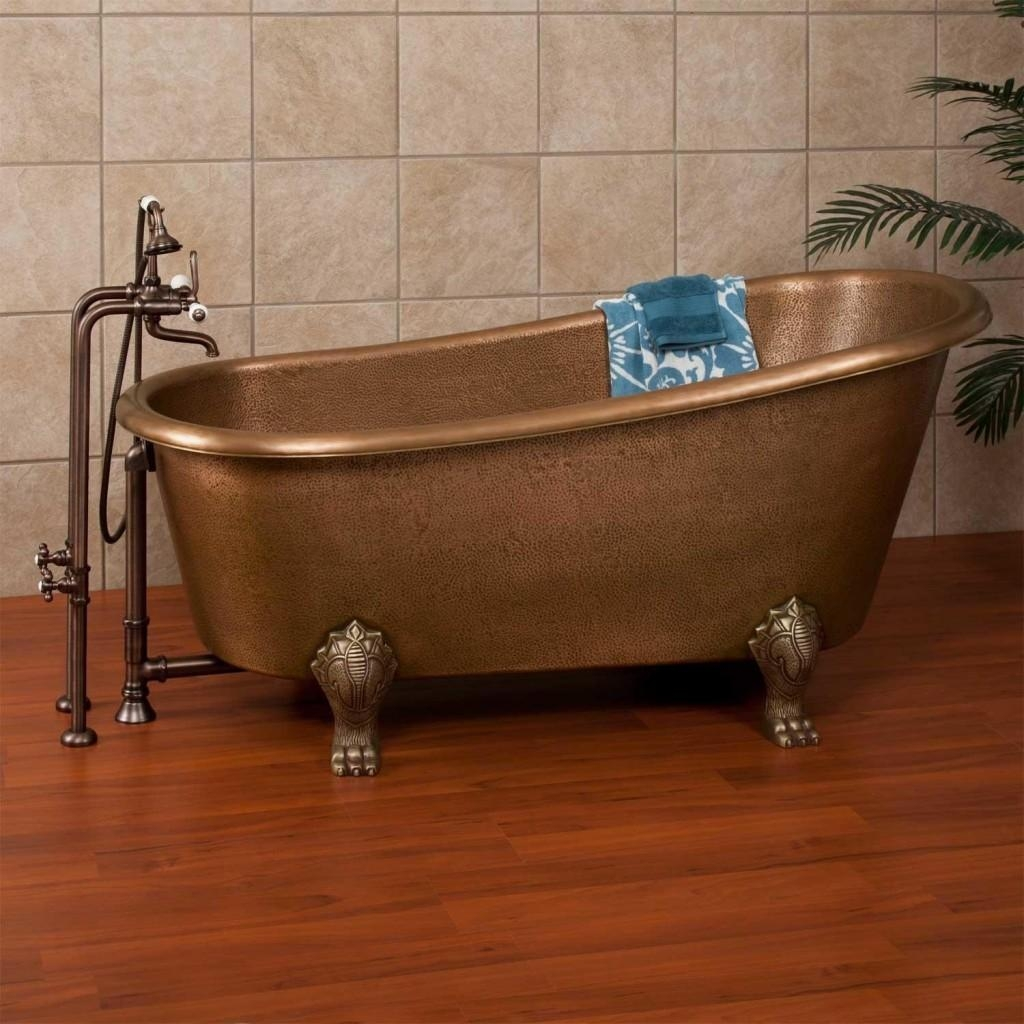 The Ultimate Guide To Clawfoot Bathtubs (50+ Ideas!) Throughout Clawfoot Tub Sofas (Image 20 of 20)