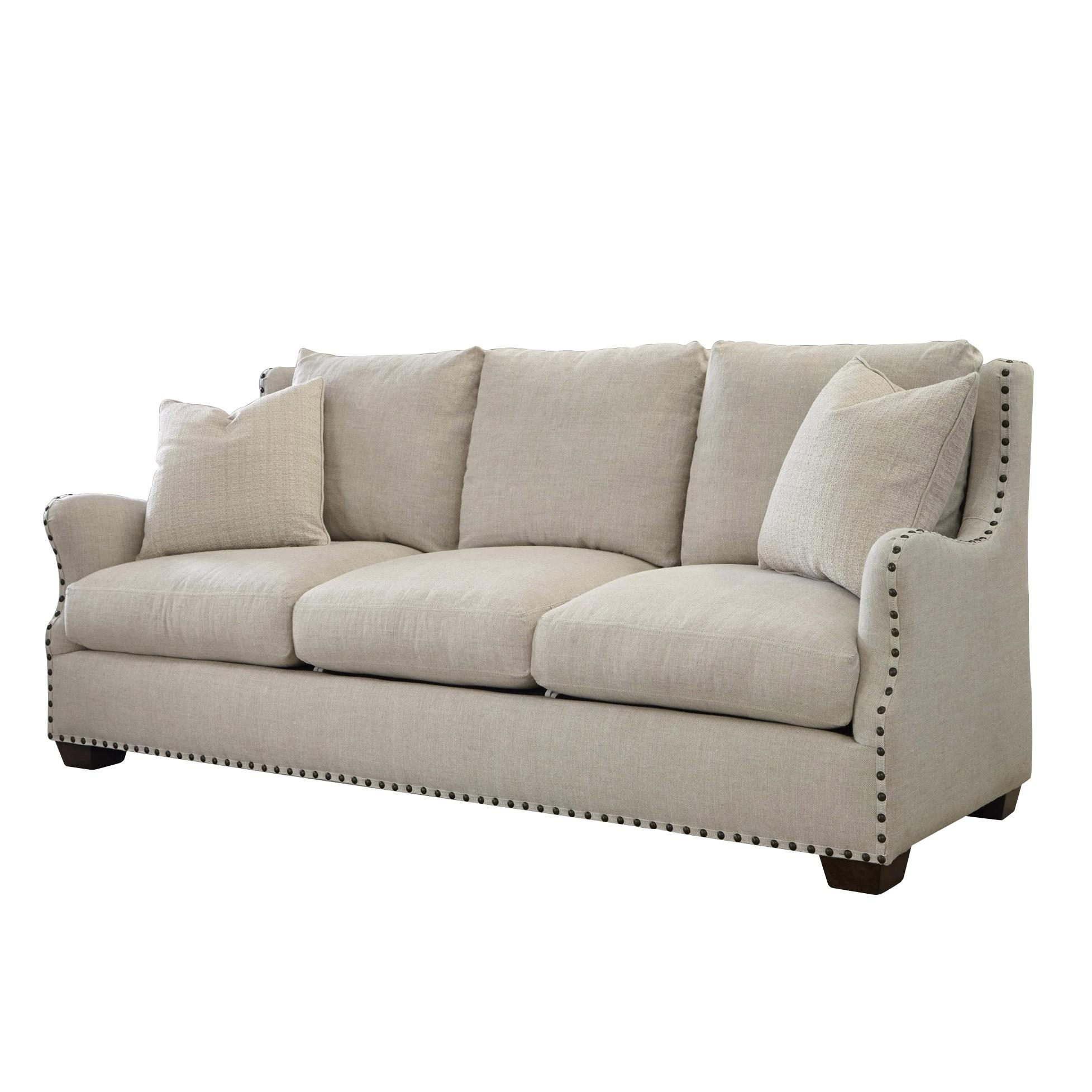 The Windsor Belgian Linen Sofa Regarding Windsor Sofas (Image 9 of 20)