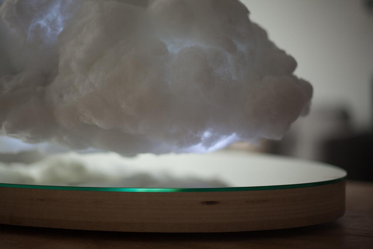 This Magical Floating Cloud Speaker Is What Dreams Are Made Of Intended For Floating Cloud Couches (View 5 of 21)