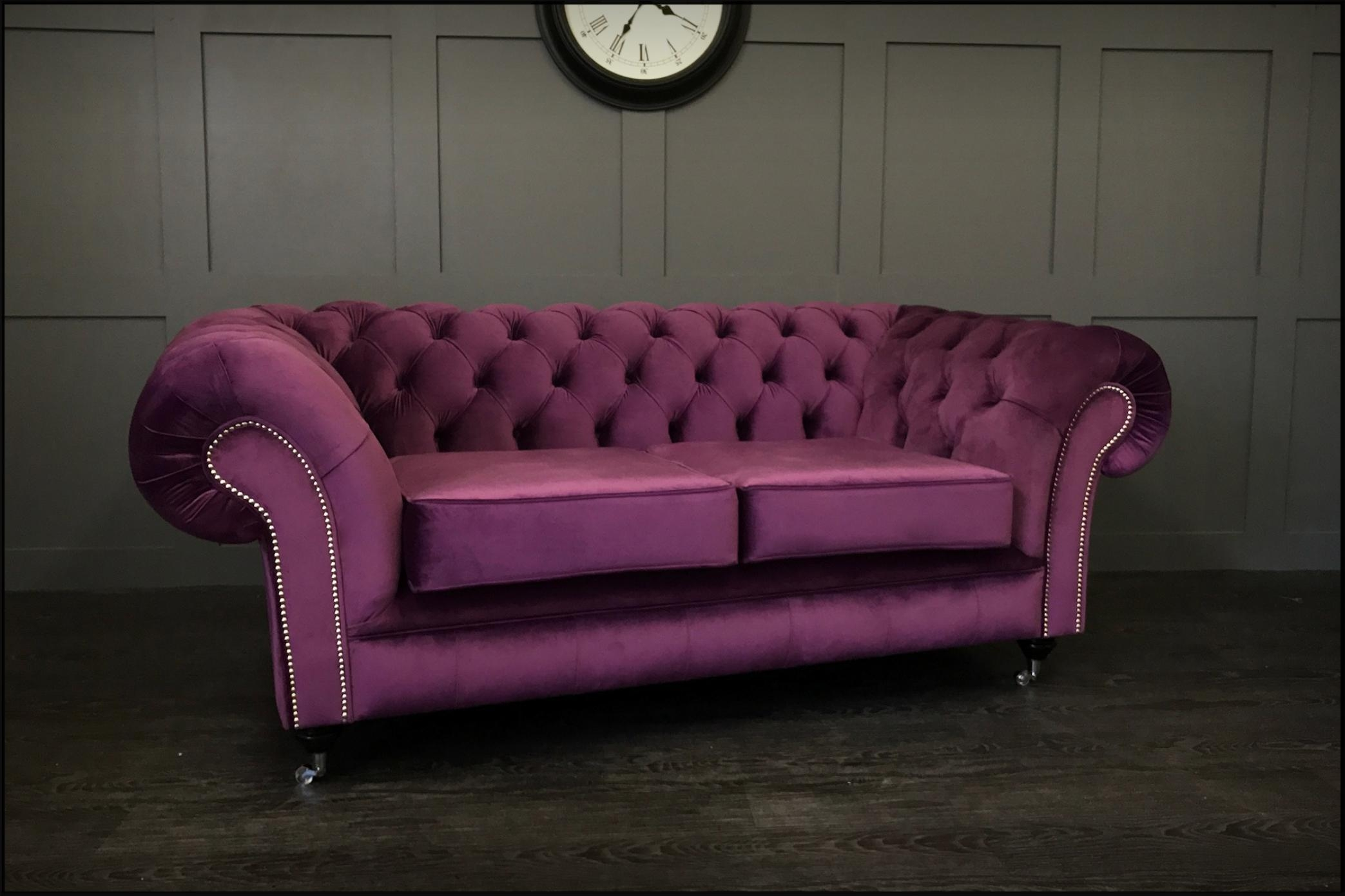 Timeless Chesterfield Sofas – Handmade Leather & Fabric Intended For Manchester Sofas (View 11 of 20)
