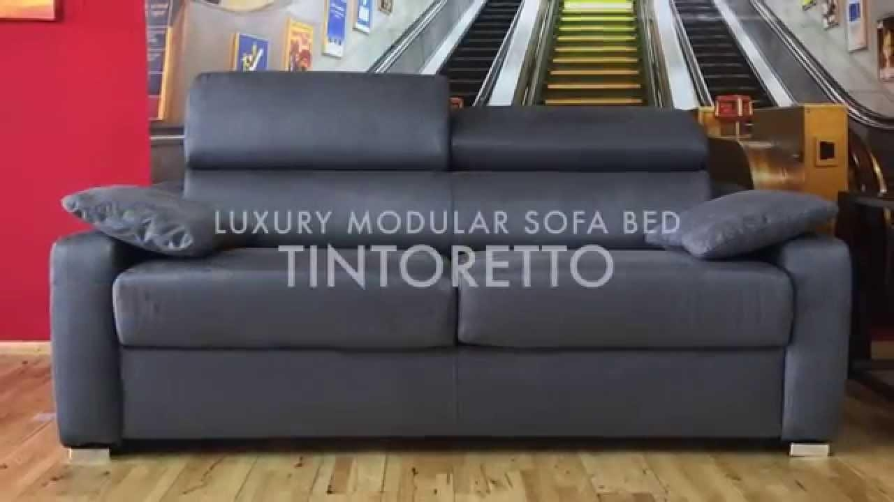 Tintoretto Luxury Sofa Bed – Youtube In Luxury Sofa Beds (View 20 of 20)