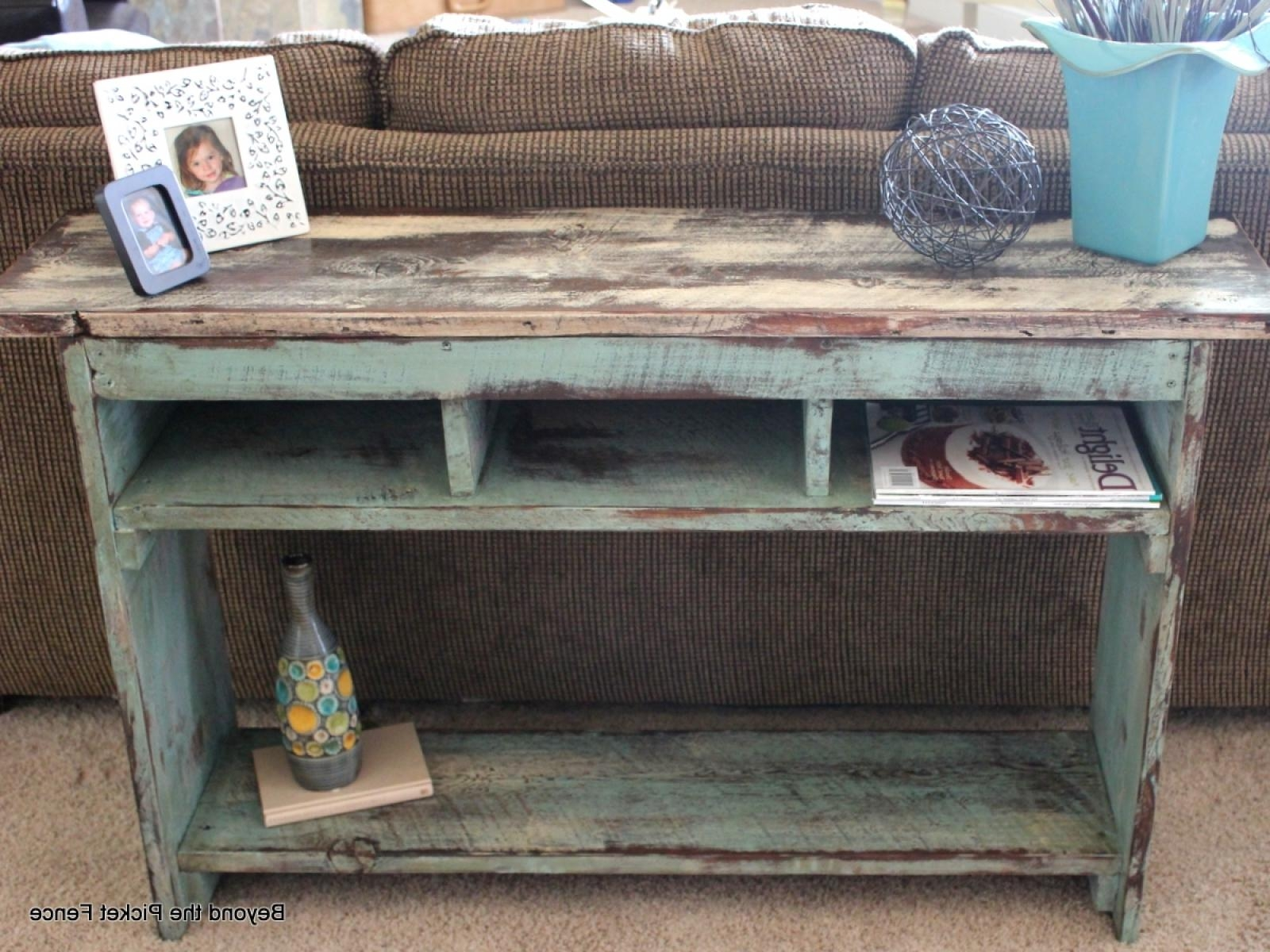 Tiny Reclaimed Wood Furniture On Sale For Feature Wood Barnwood Regarding Barnwood Sofa Tables (Image 20 of 20)