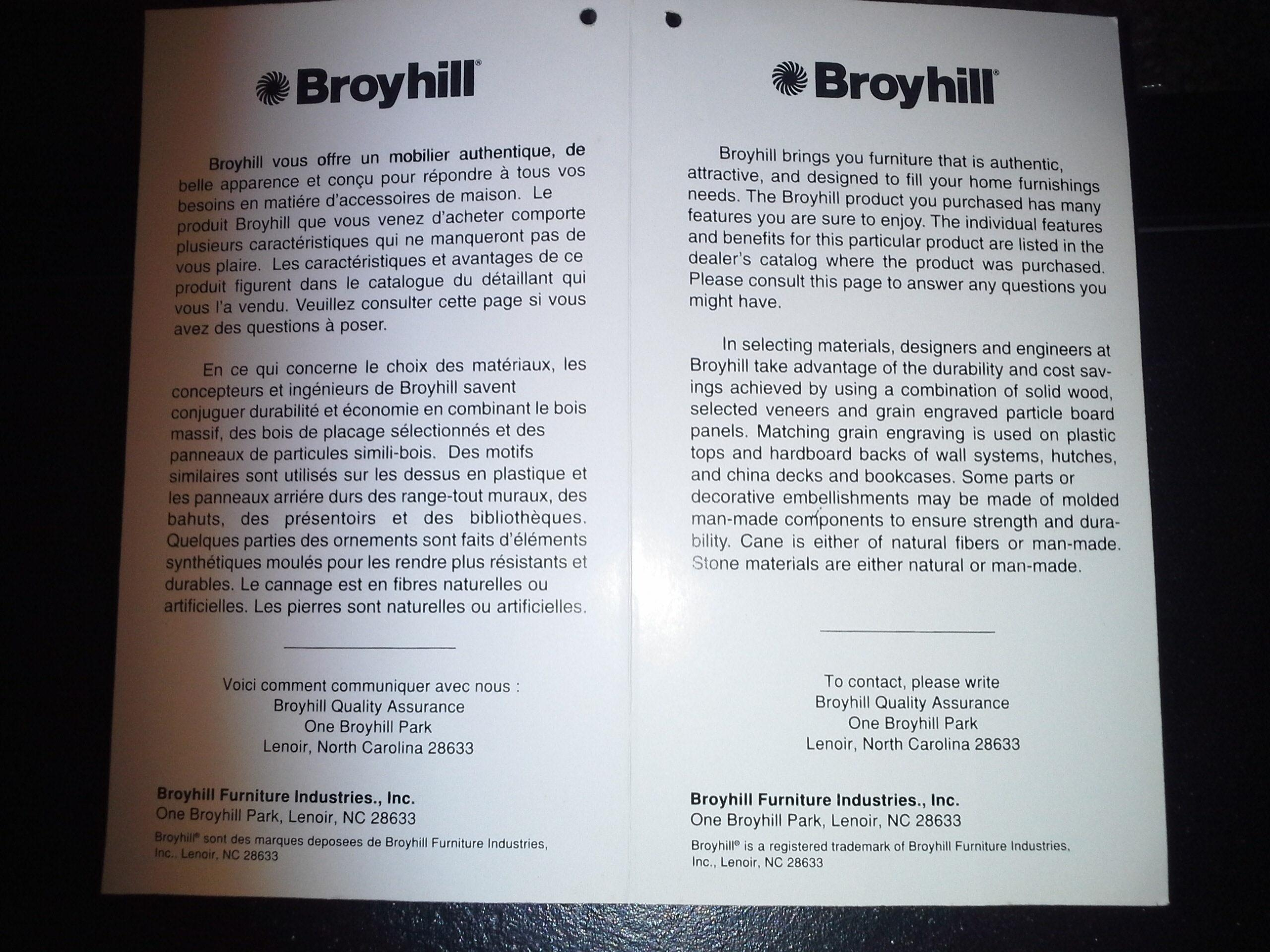 Top 129 Reviews And Complaints About Broyhill intended for Broyhill Mckinney Sofas