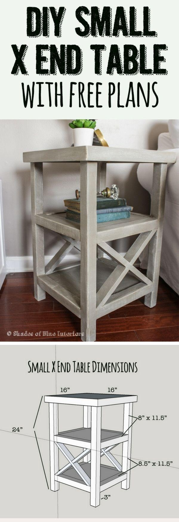 Top 25+ Best End Table Plans Ideas On Pinterest | Coffee And End In 2×2 Corner Sofas (Image 20 of 20)