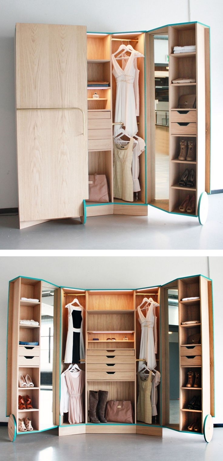 On The Go With A Portable Wardrobe Closet Custom Home Design