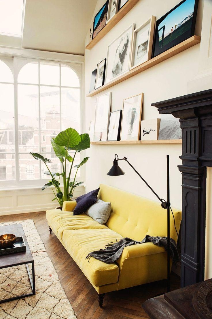 Top 25+ Best Yellow Couch Ideas On Pinterest | Gold Couch, Mustard Inside Yellow Sofa Chairs (Image 18 of 20)