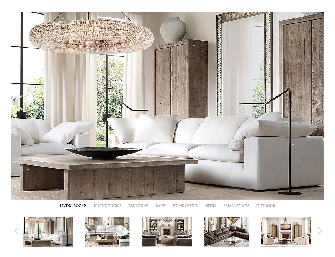 Top 320 Reviews And Complaints About Restoration Hardware In Cloud Sectional Sofas (Image 20 of 20)