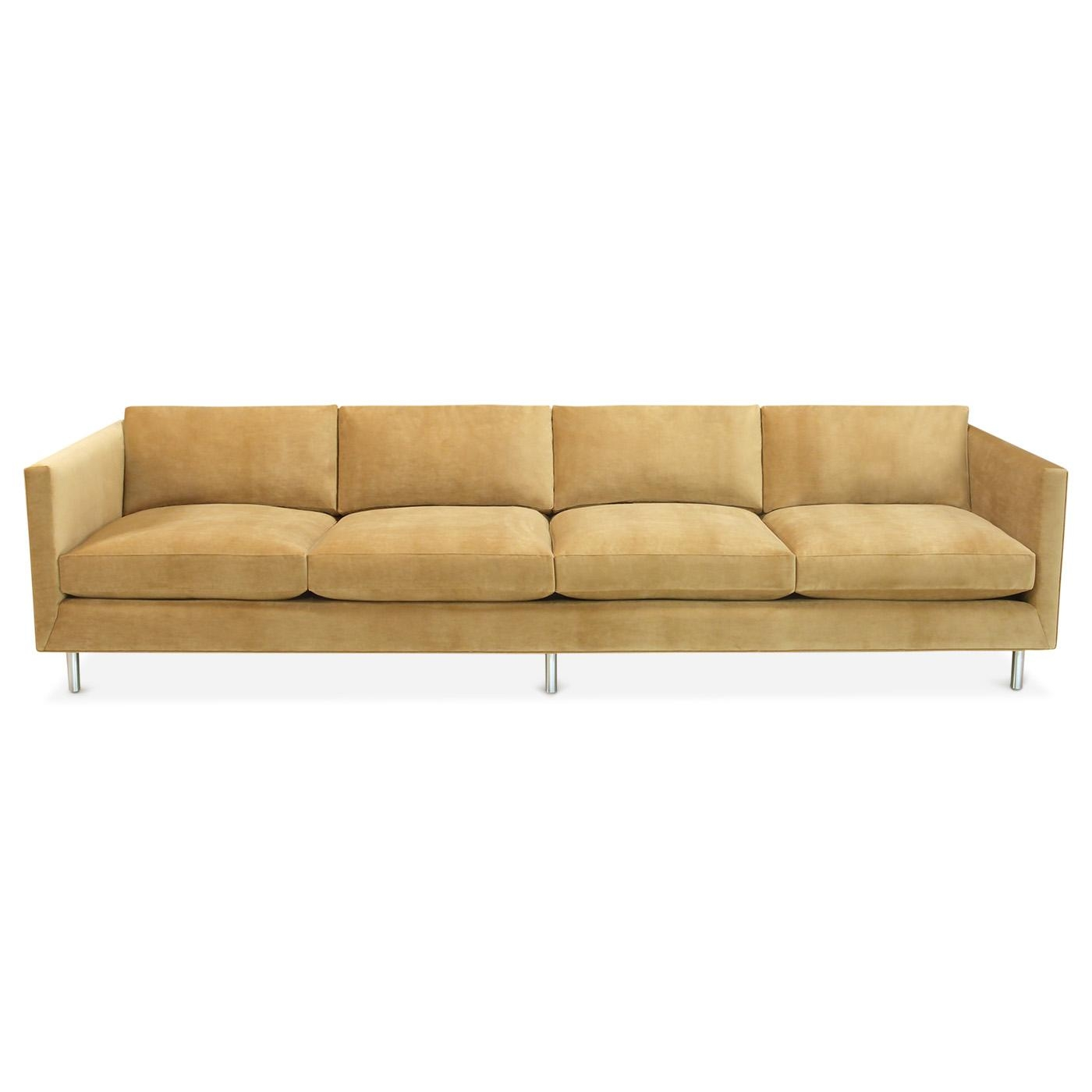 Topanga Four Seater Sofa | Modern Furniture | Jonathan Adler Within Four Seater Sofas (View 13 of 20)