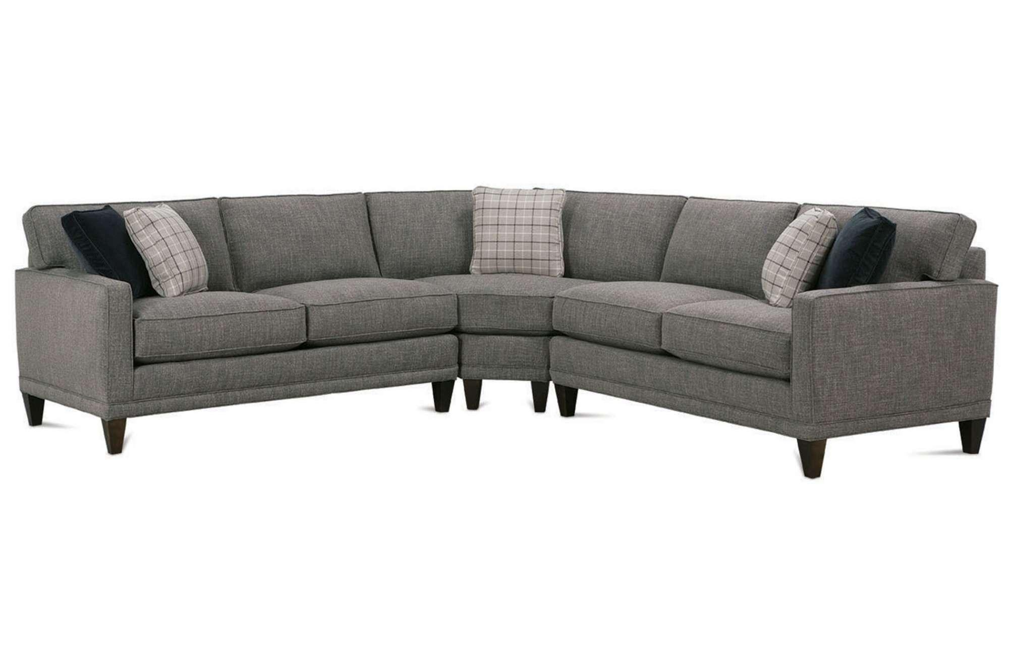 Townsend Sectionalrowe Furniture With Rowe Sectional Sofas (View 2 of 20)