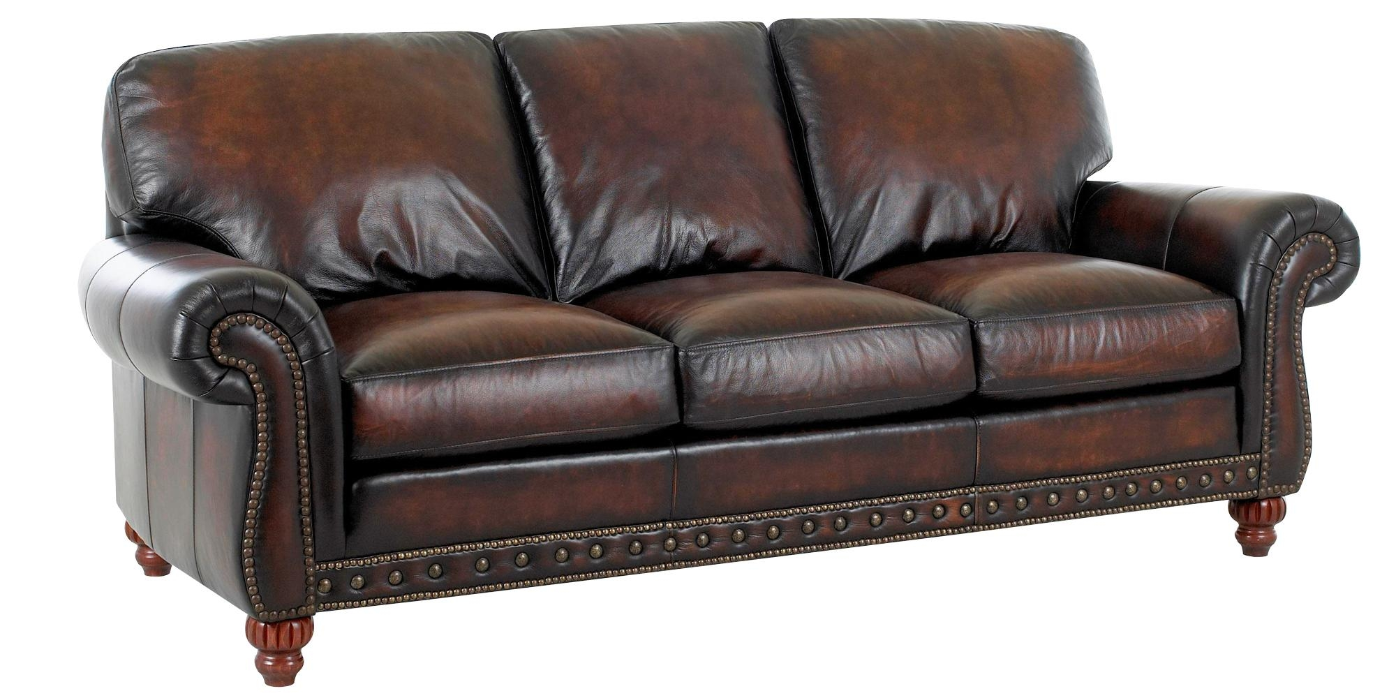 Traditional European Old World Leather Sofa Set | Club Furniture Throughout Old Fashioned Sofas (Image 20 of 20)
