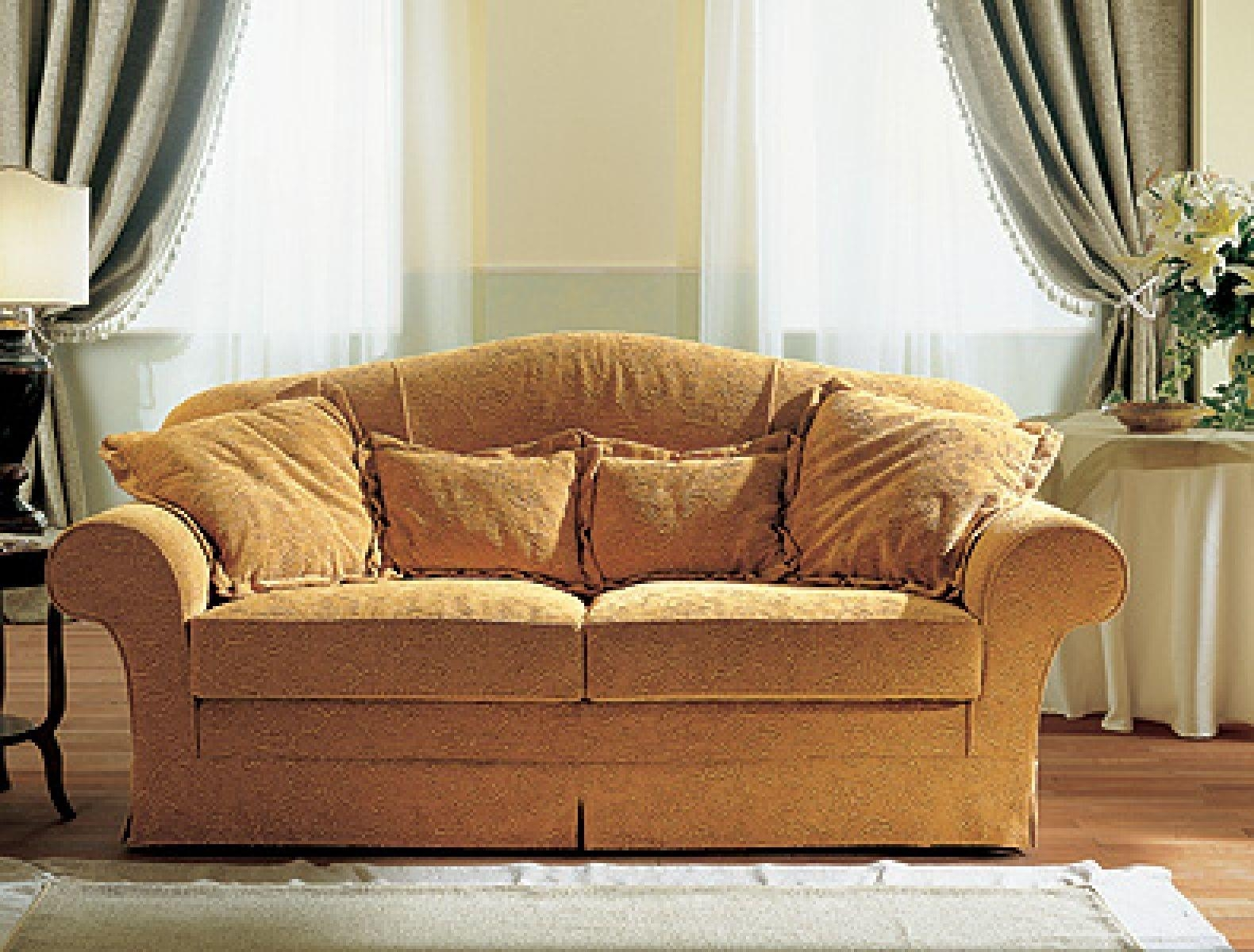 Traditional Sofa / Fabric / 2 Seater / White – Jois – Doimo Salotti Within Traditional Fabric Sofas (View 7 of 20)