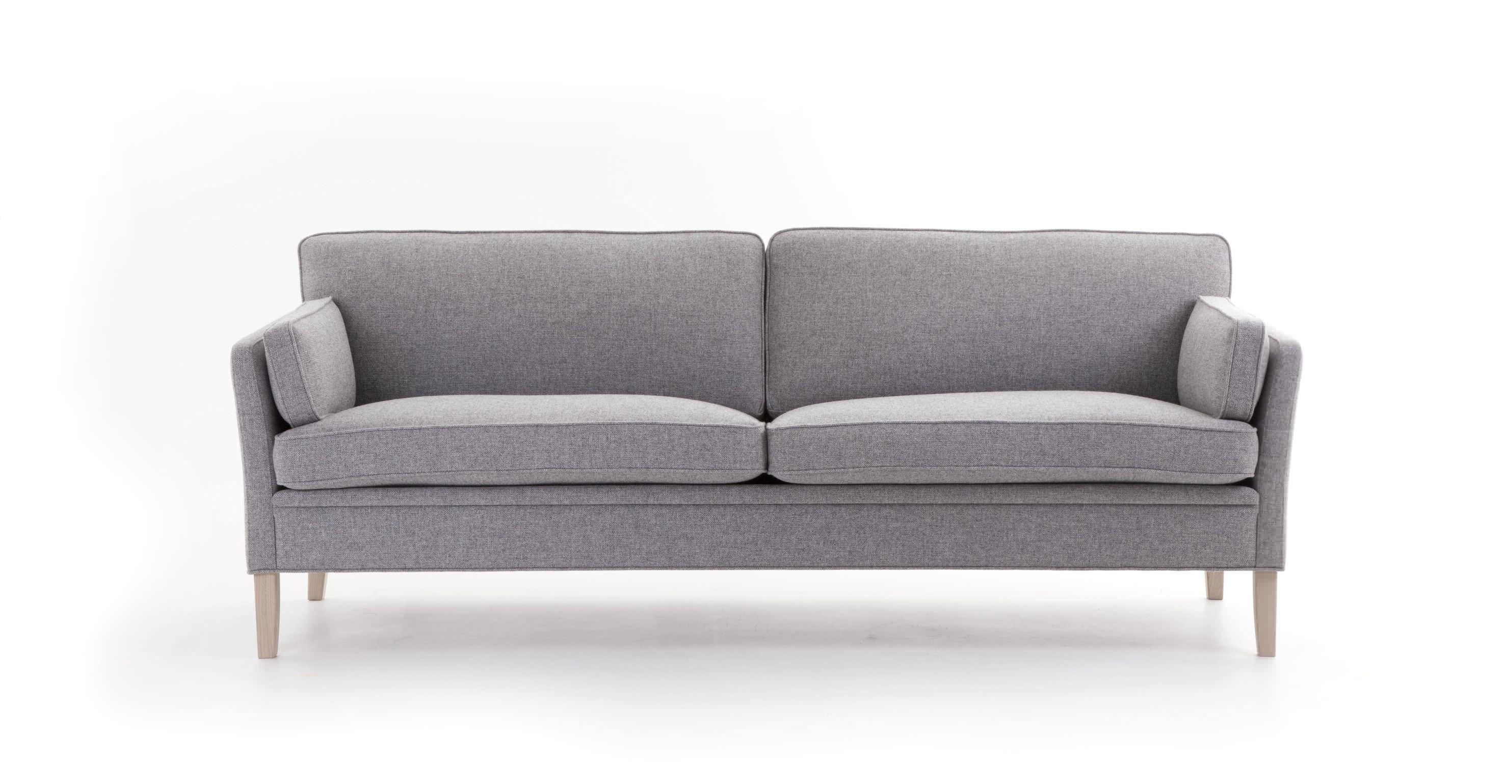 Traditional Sofa / Fabric / 2 Seater / With Removable Cover Intended For Sofas With Removable Covers (View 5 of 20)