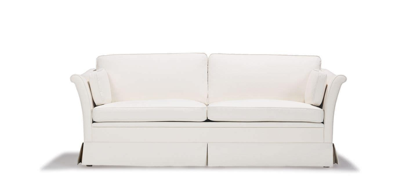 Traditional Sofa / Fabric / 2 Seater / With Removable Cover Throughout Sofa With Removable Cover (View 11 of 20)