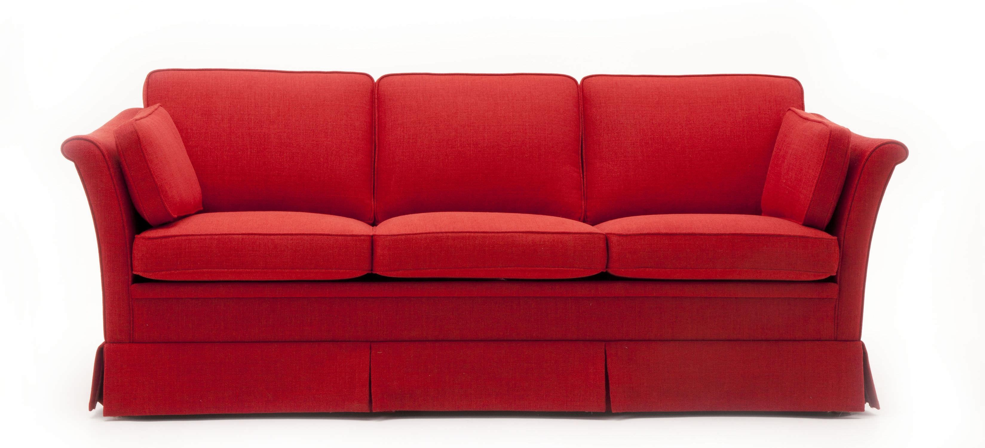 Traditional Sofa / Fabric / 3 Seater / With Removable Cover Pertaining To Sofas With Removable Covers (View 7 of 20)