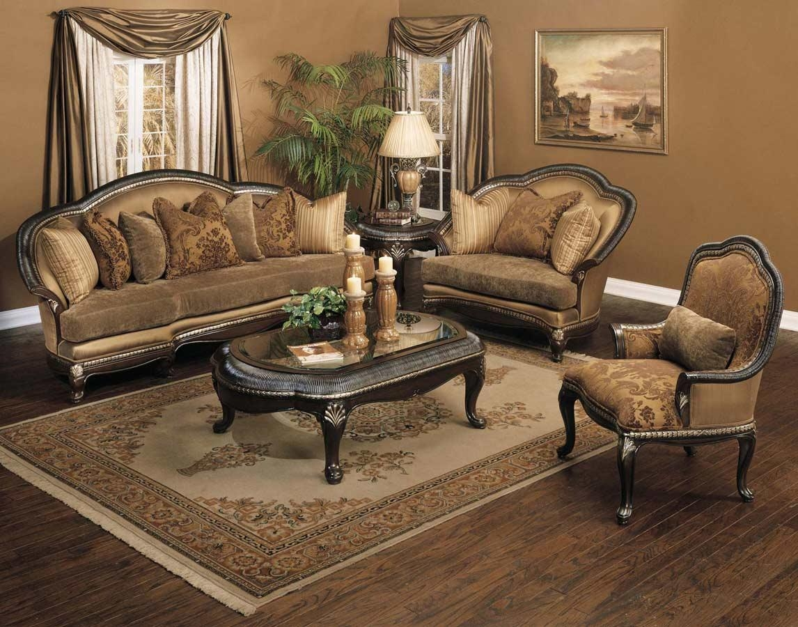 Traditional Sofas, Loveseats, Chairs, Sets & Sectionals Regarding Traditional Fabric Sofas (View 10 of 20)