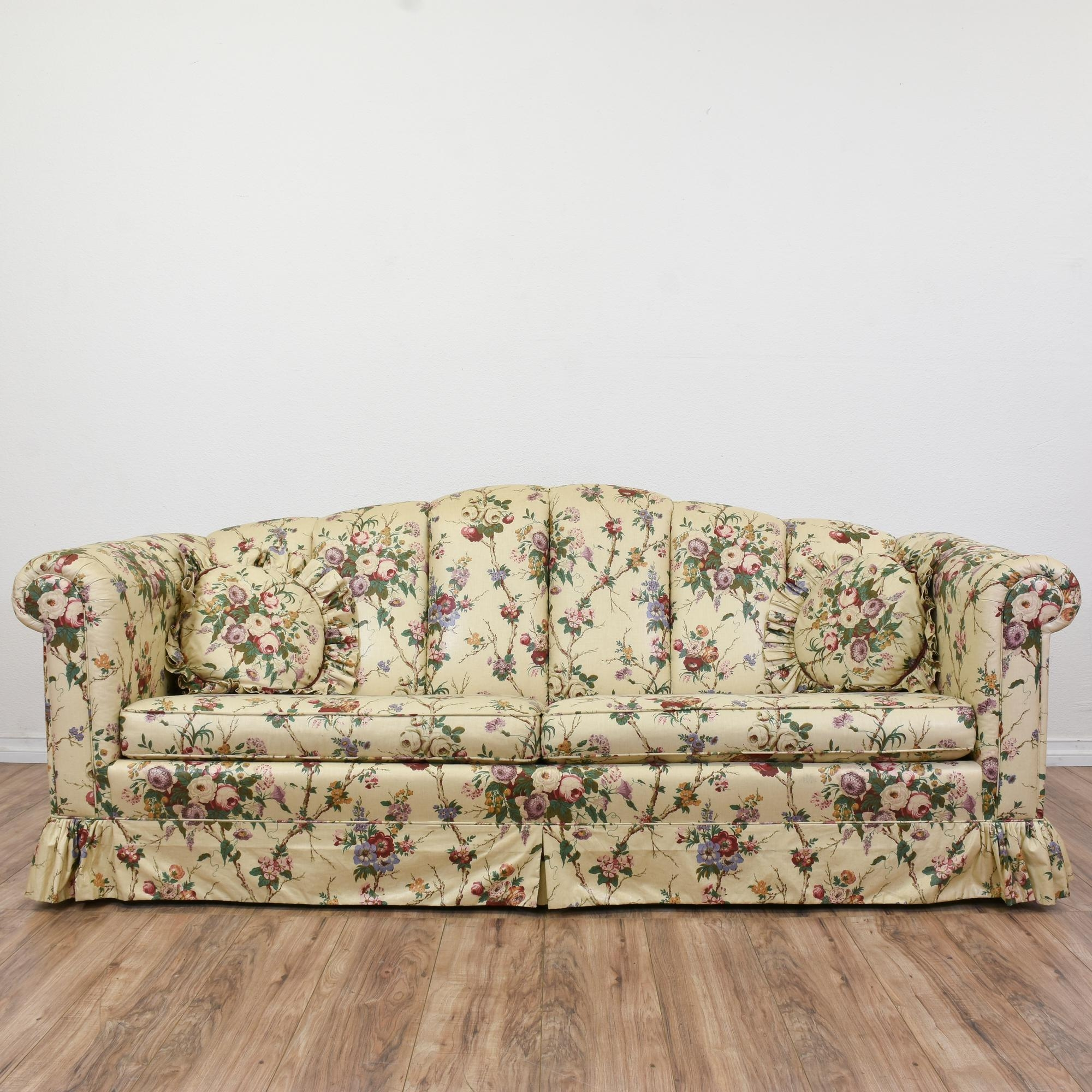 Leather Sofas London Ont: 20 Collection Of Chintz Covered Sofas