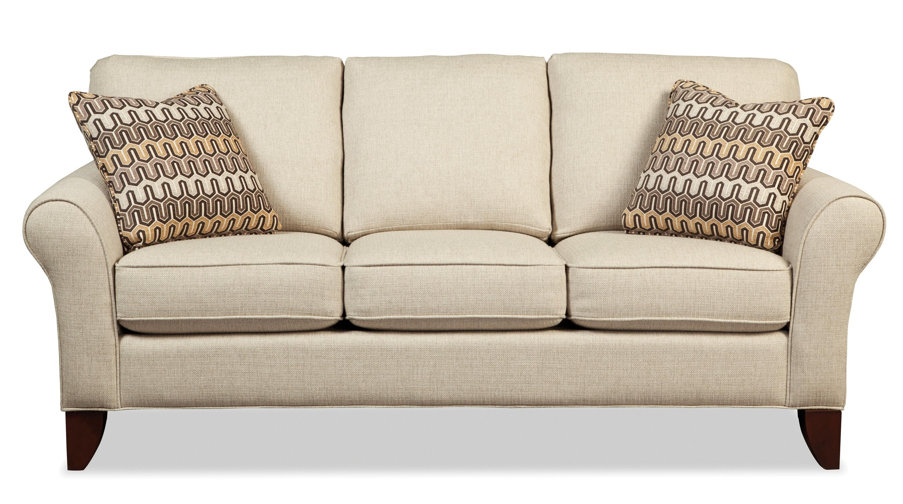 Transitional Small Scale Sofacraftmaster | Wolf And Gardiner Pertaining To Small Scale Sofa Bed (View 20 of 20)
