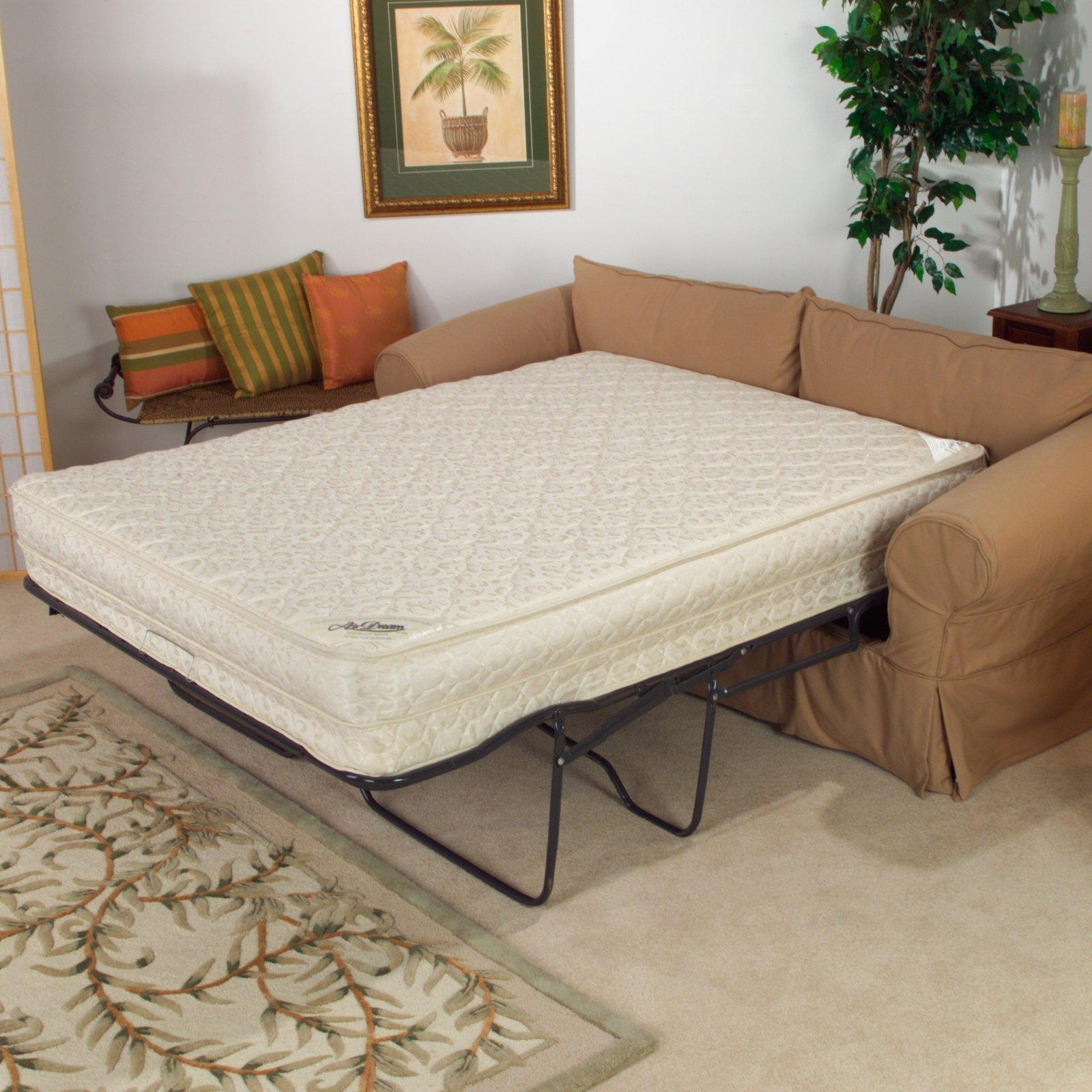 Trend Armless Queen Sleeper Sofa 91 In Sectional Sofas With Regarding Simmons Sleeper Sofas (Image 20 of 20)