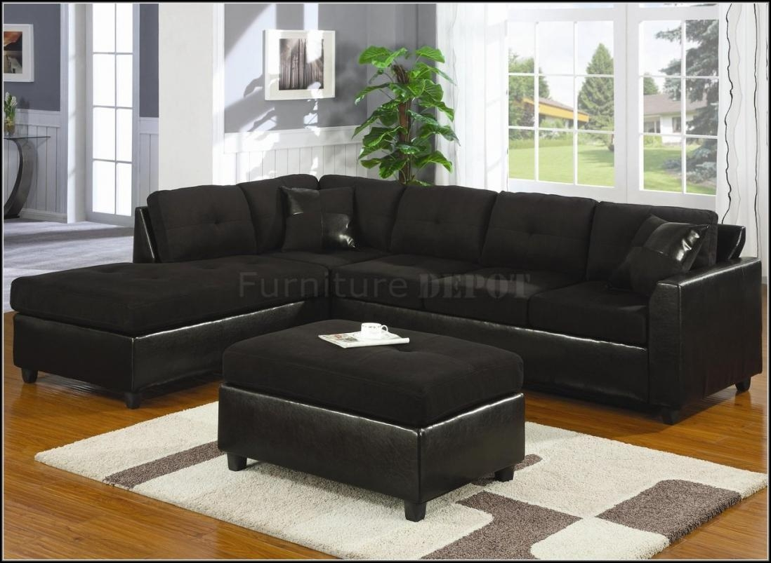 Trend Black Sectional Sofa 85 In Sofas And Couches Set With Black With Sofa Trend (View 8 of 20)