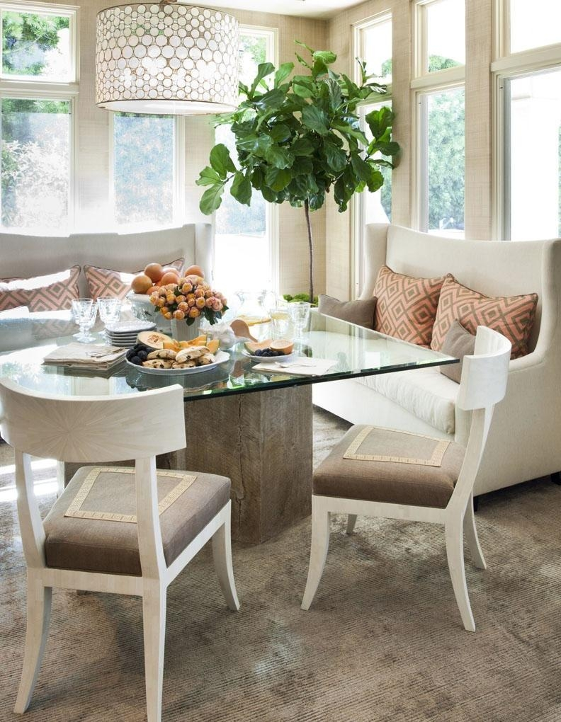 Trend Dining Table With Sofa Chairs 46 About Remodel Decorating Pertaining To Dining Table With Sofa Chairs (View 10 of 20)