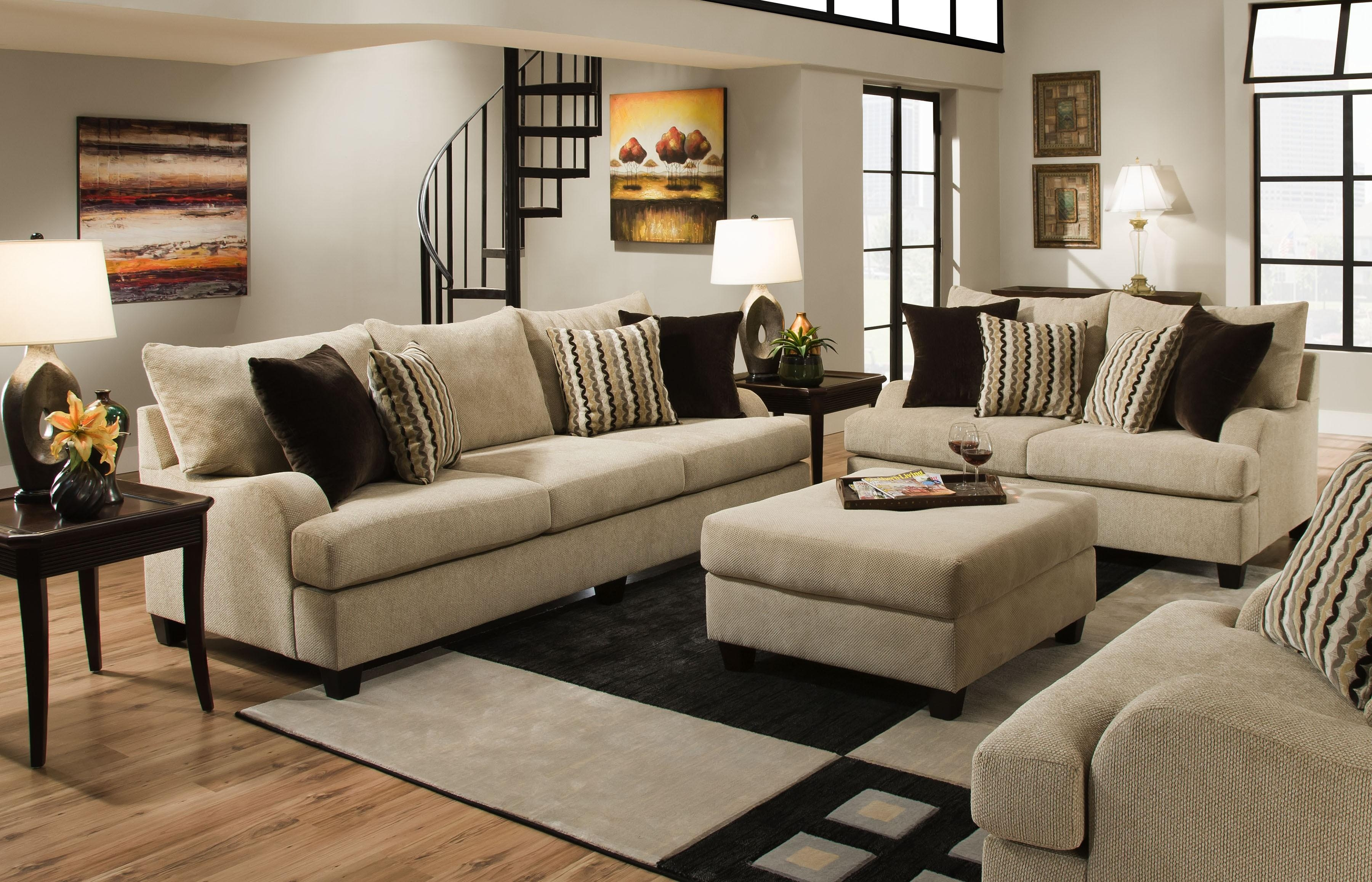 Trinidad Chenile Living Room Set – Sofa & Loveseat | Orange County Pertaining To Sofa Orange County (Image 19 of 20)