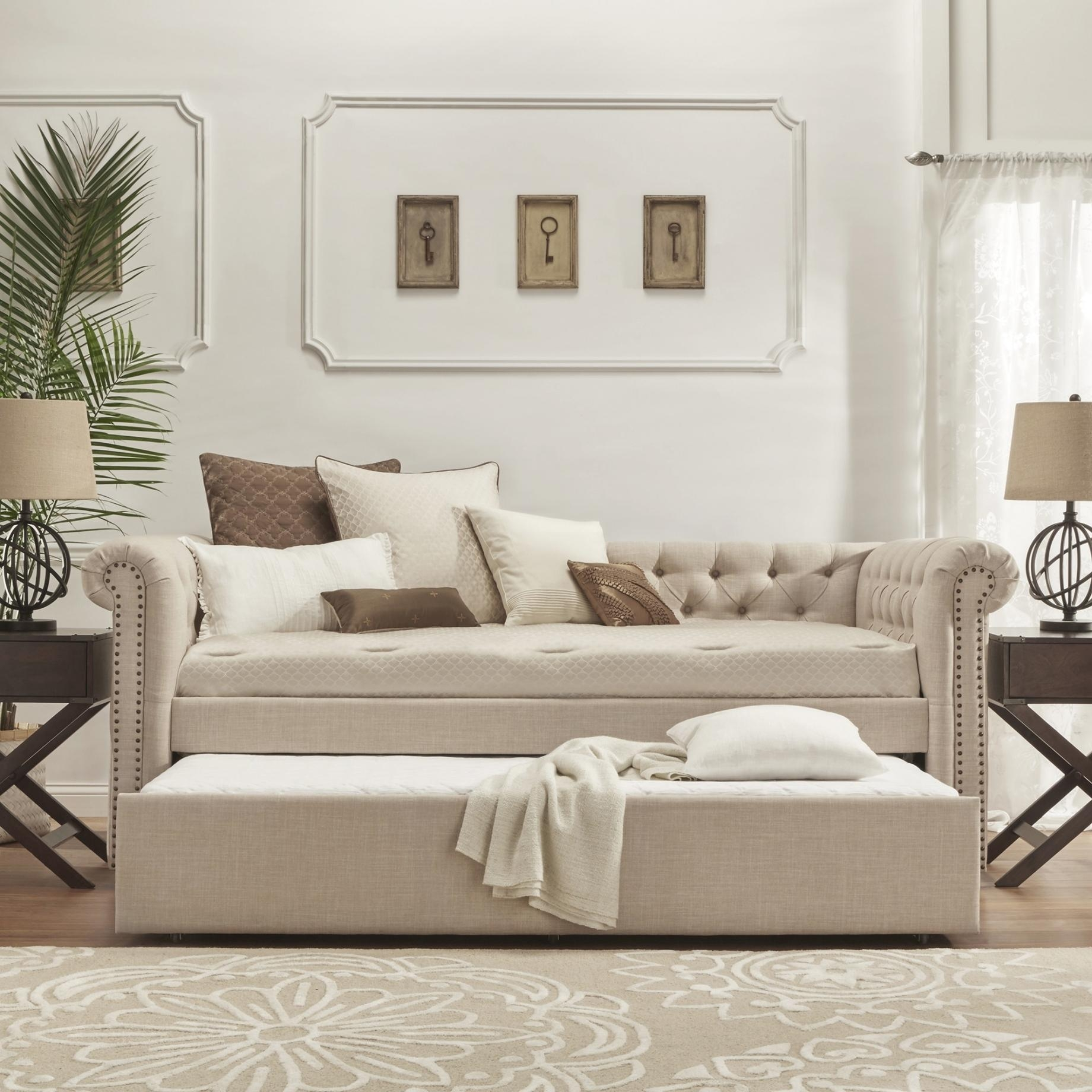 Trundle Sofa Sleeper – Millie Hurst Design Ideas Pertaining To Sofas With Trundle (View 4 of 20)