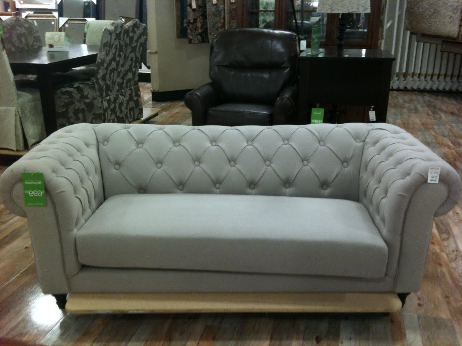 Tufted Sleeper Sofa. Quicklook (View 17 of 20)