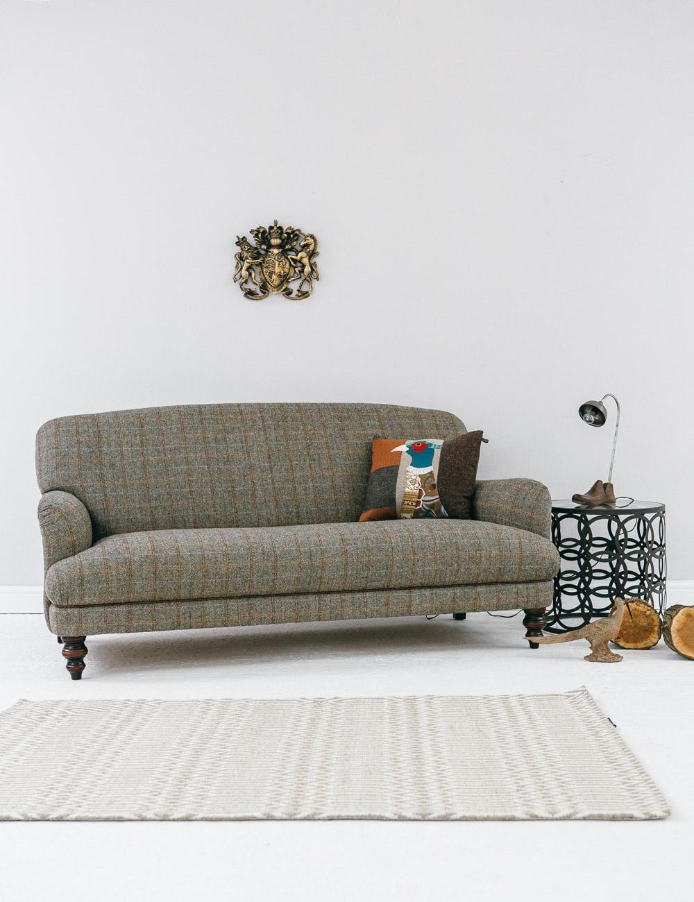 Tweed Sofa | Premier Comfort Heating Intended For Tweed Fabric Sofas (Image 15 of 20)