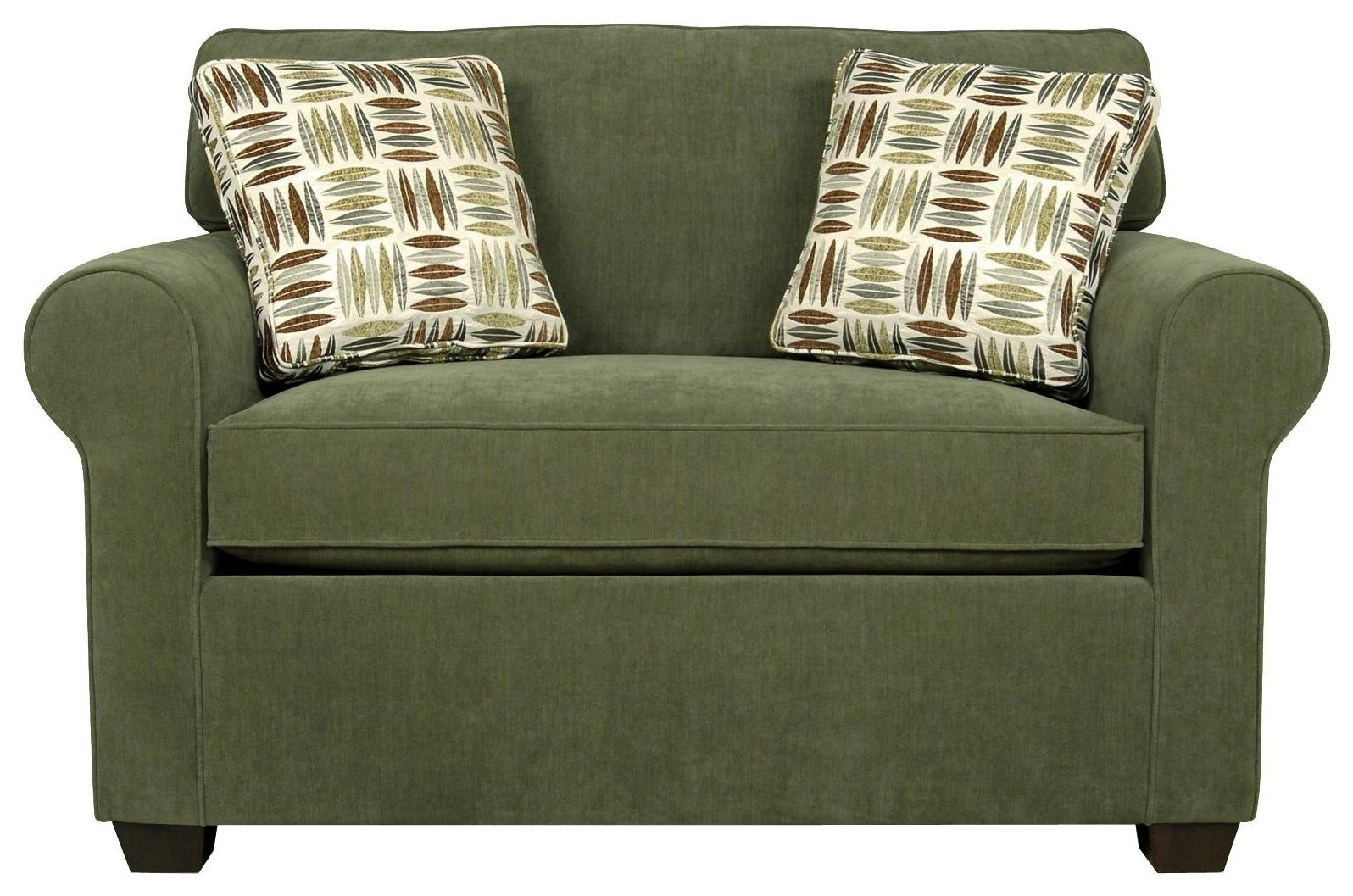 Twin Bed Sofa For Twin Sofa Chairs (Image 15 of 20)