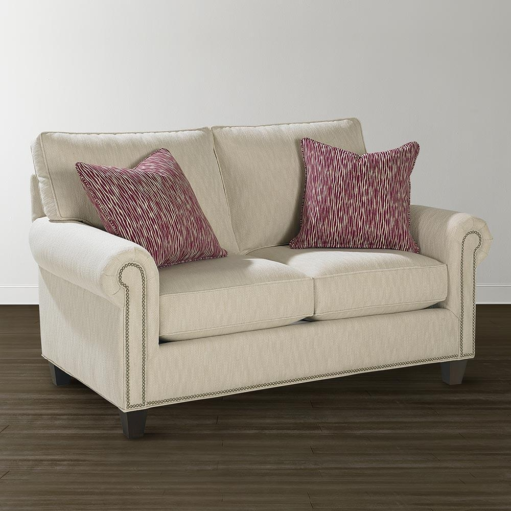 Twin Sleeper Sofa – Custom Upholstery | Bassett Furniture In Twin Sleeper Sofa Chairs (Image 19 of 20)